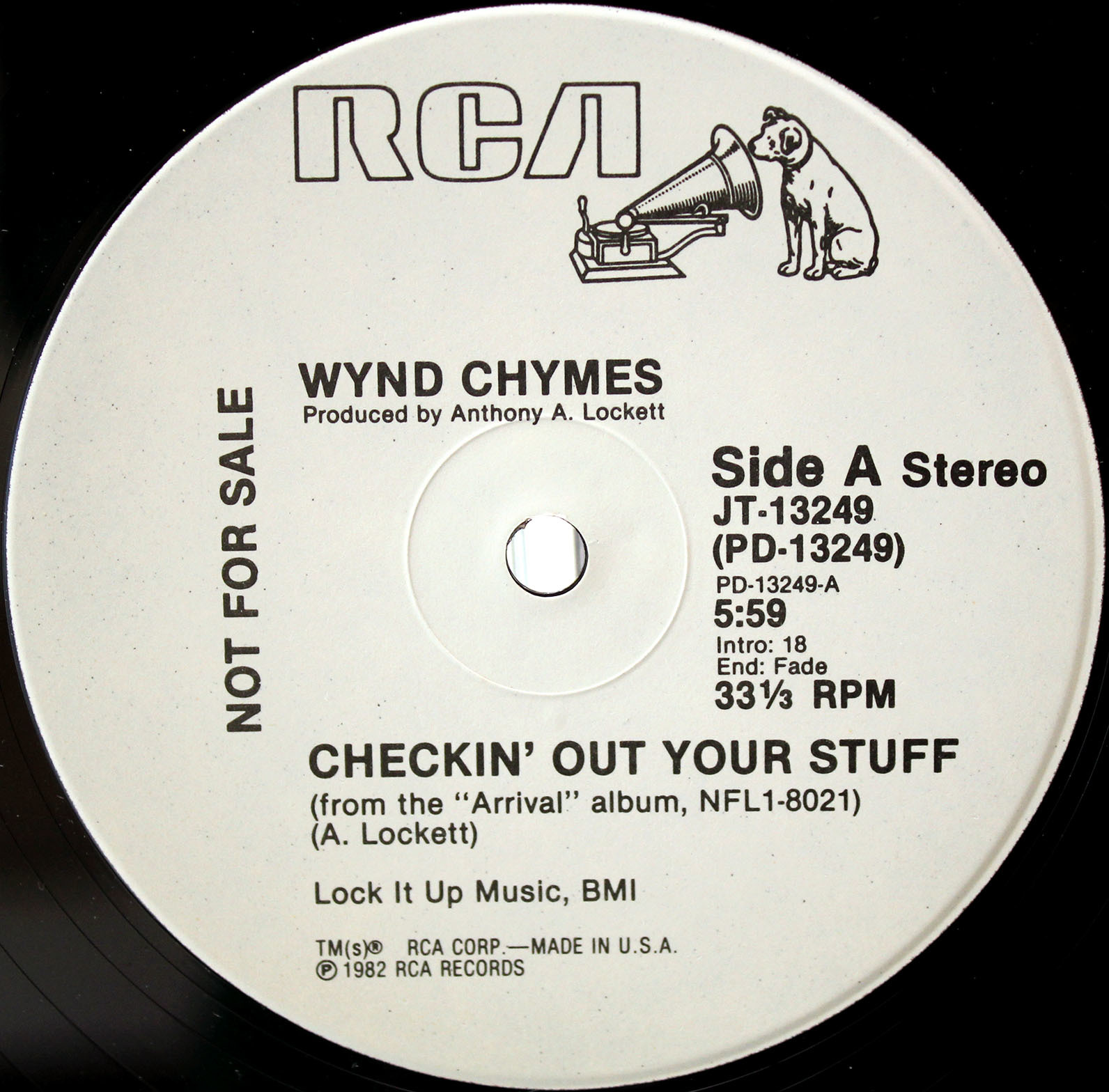 Wynd Chymes ‎– Checkin Out Your Stuff 03