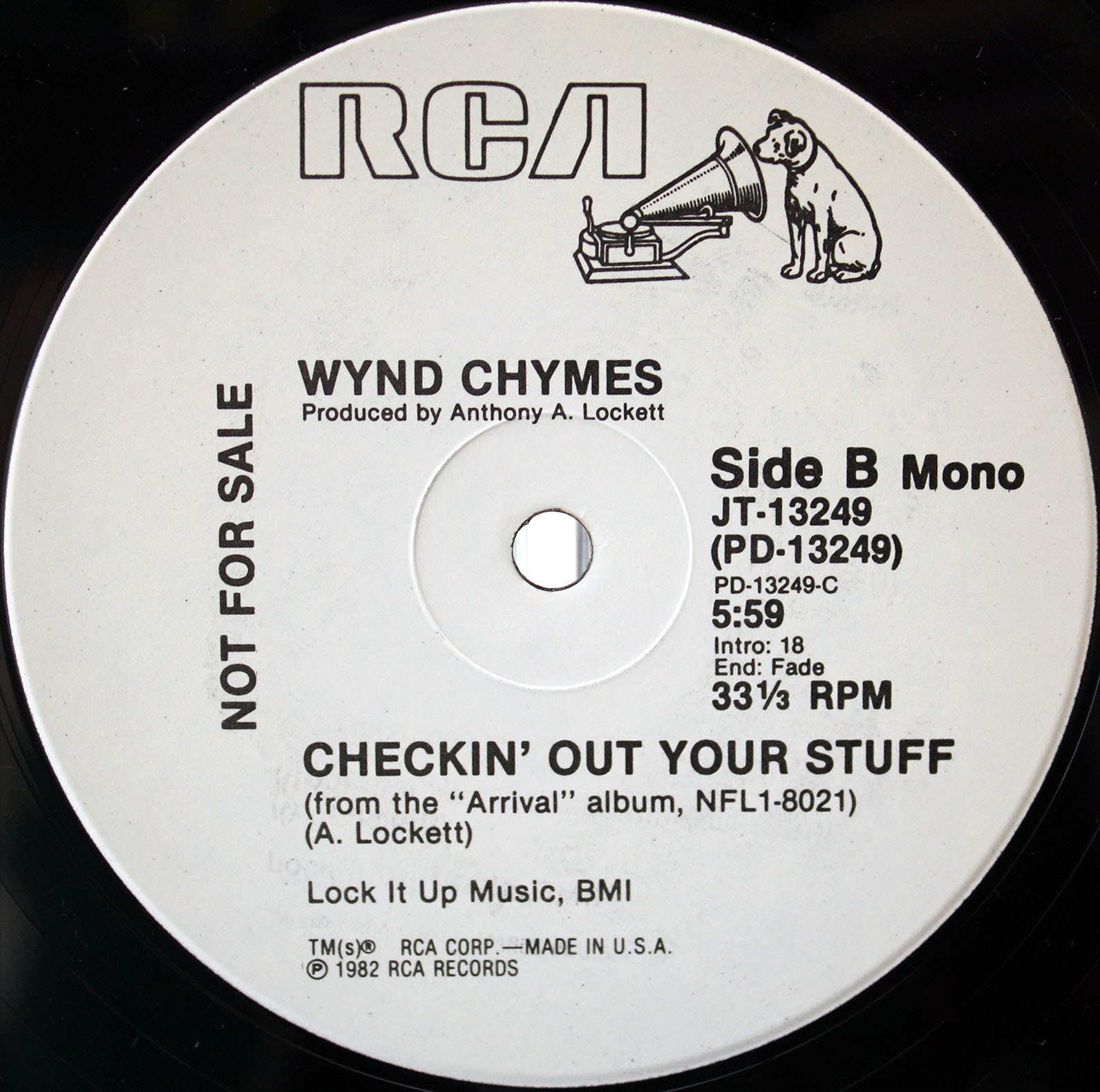 Wynd Chymes ‎– Checkin Out Your Stuff 04