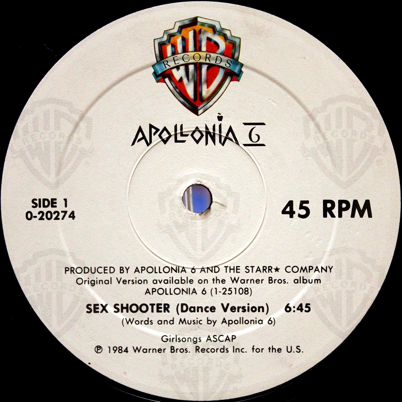 Apollonia 6 ‎– Sex Shooter 03