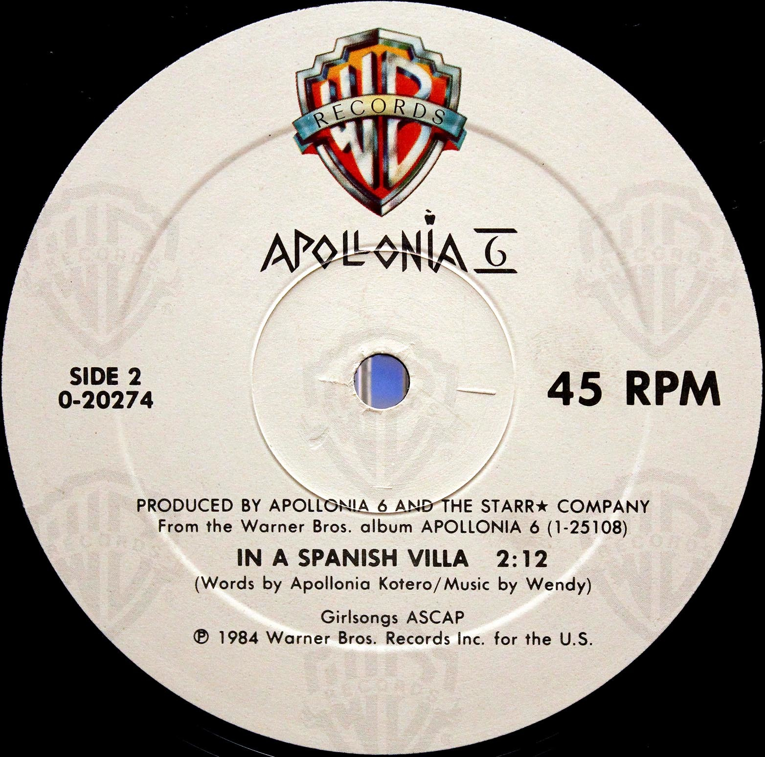 Apollonia 6 ‎– Sex Shooter 04