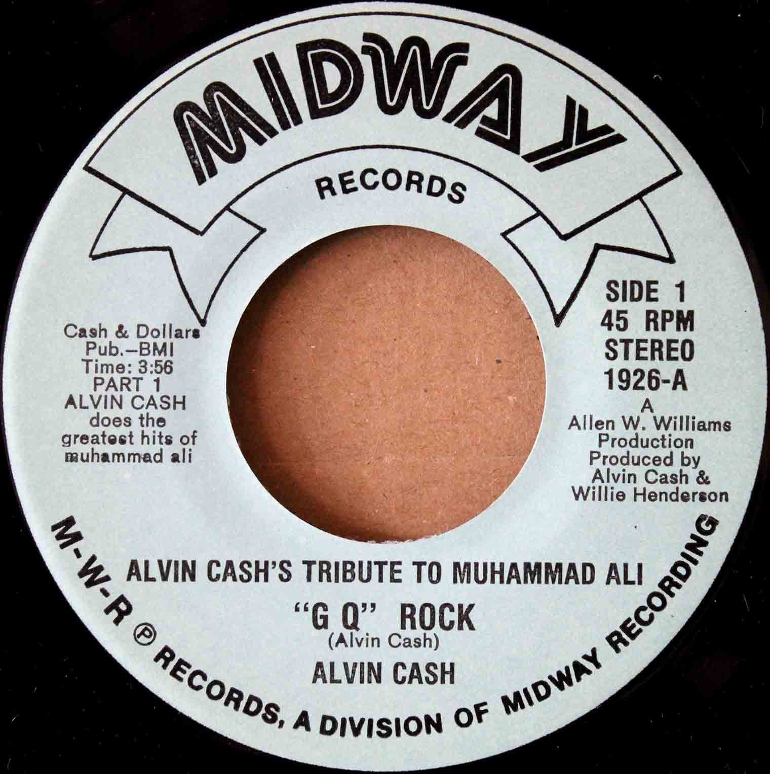 Alvin Cash ‎– Alvin Cashs Tribute To Muhammed 03