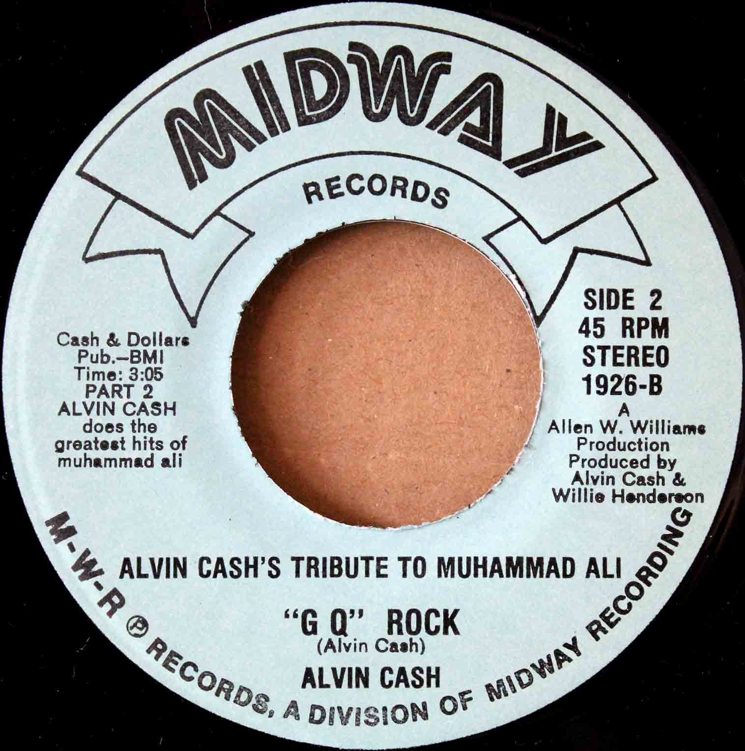 Alvin Cash ‎– Alvin Cashs Tribute To Muhammed 04