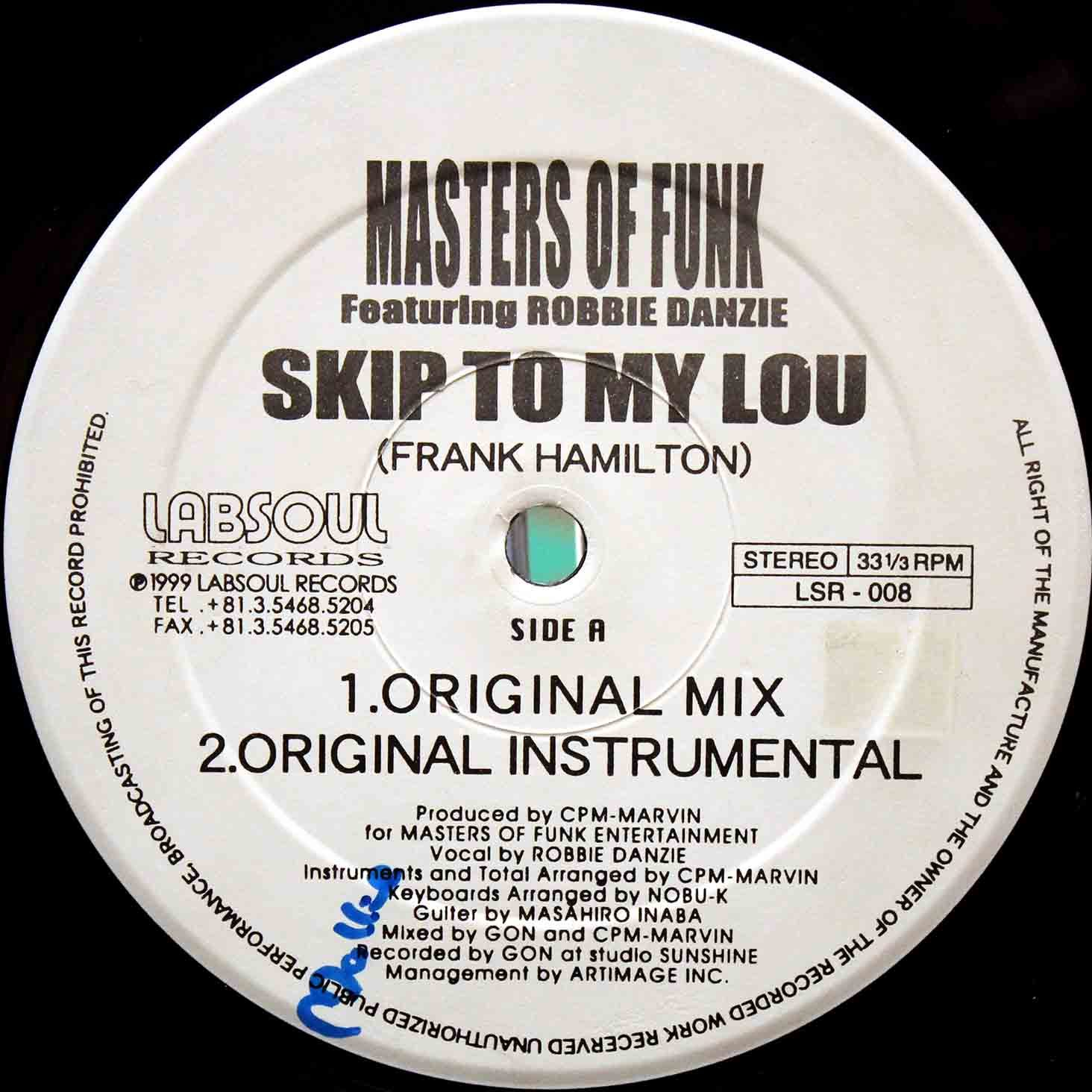 Masters Of Funk – Skip To My Lou 03