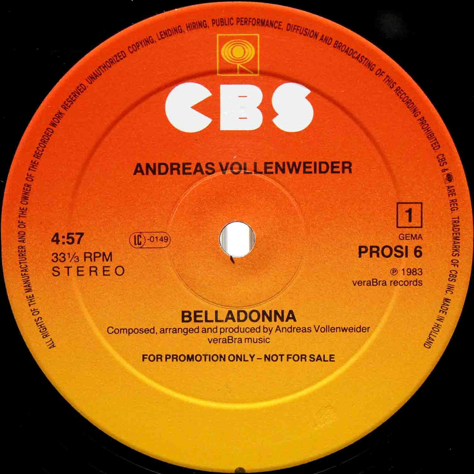 Andreas Vollenweider – Belladonna 03