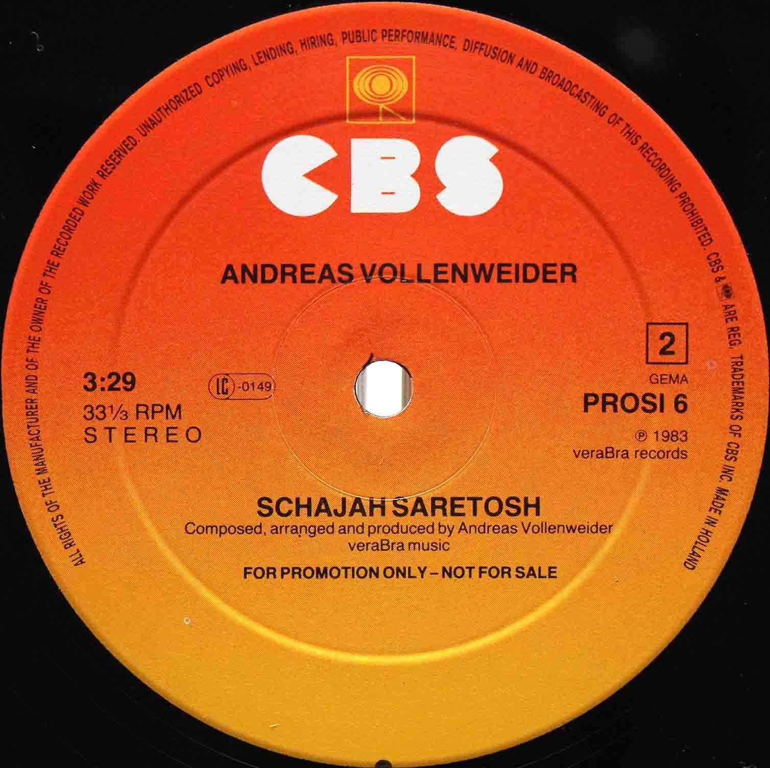 Andreas Vollenweider – Belladonna 04