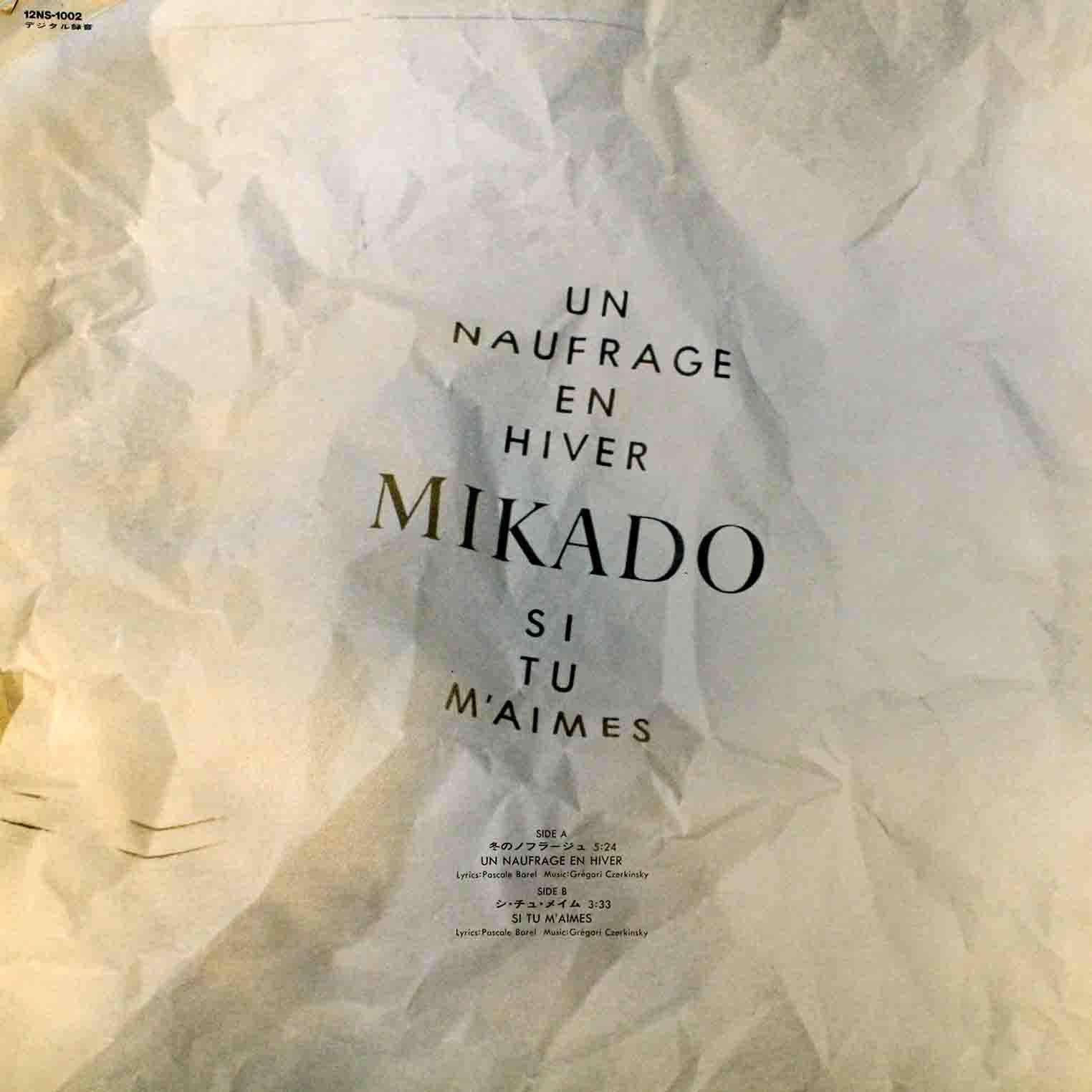 Mikado - Naufrage en Hiver 00