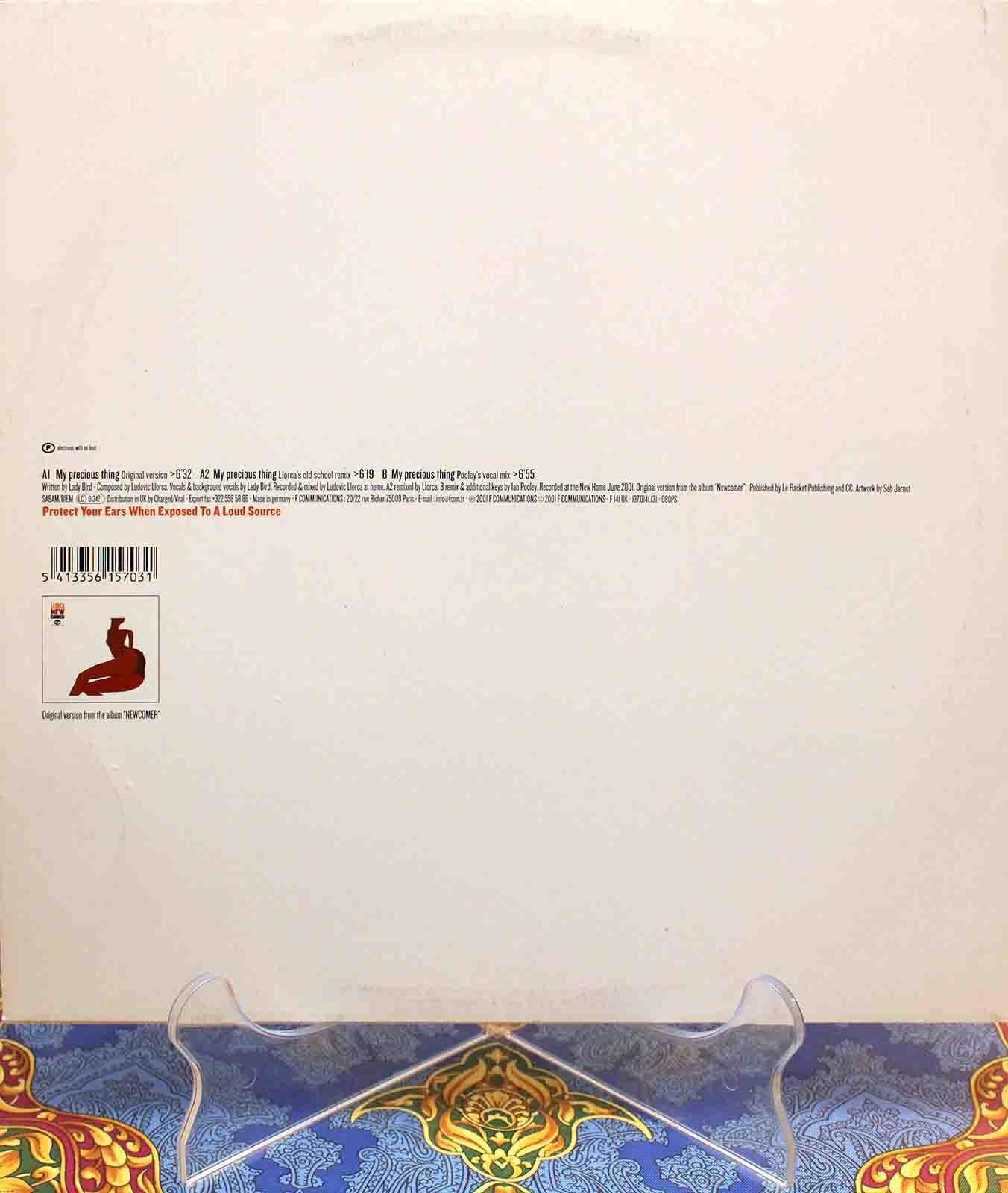 Llorca feat Lady Bird My Precious Thing 01 (1)