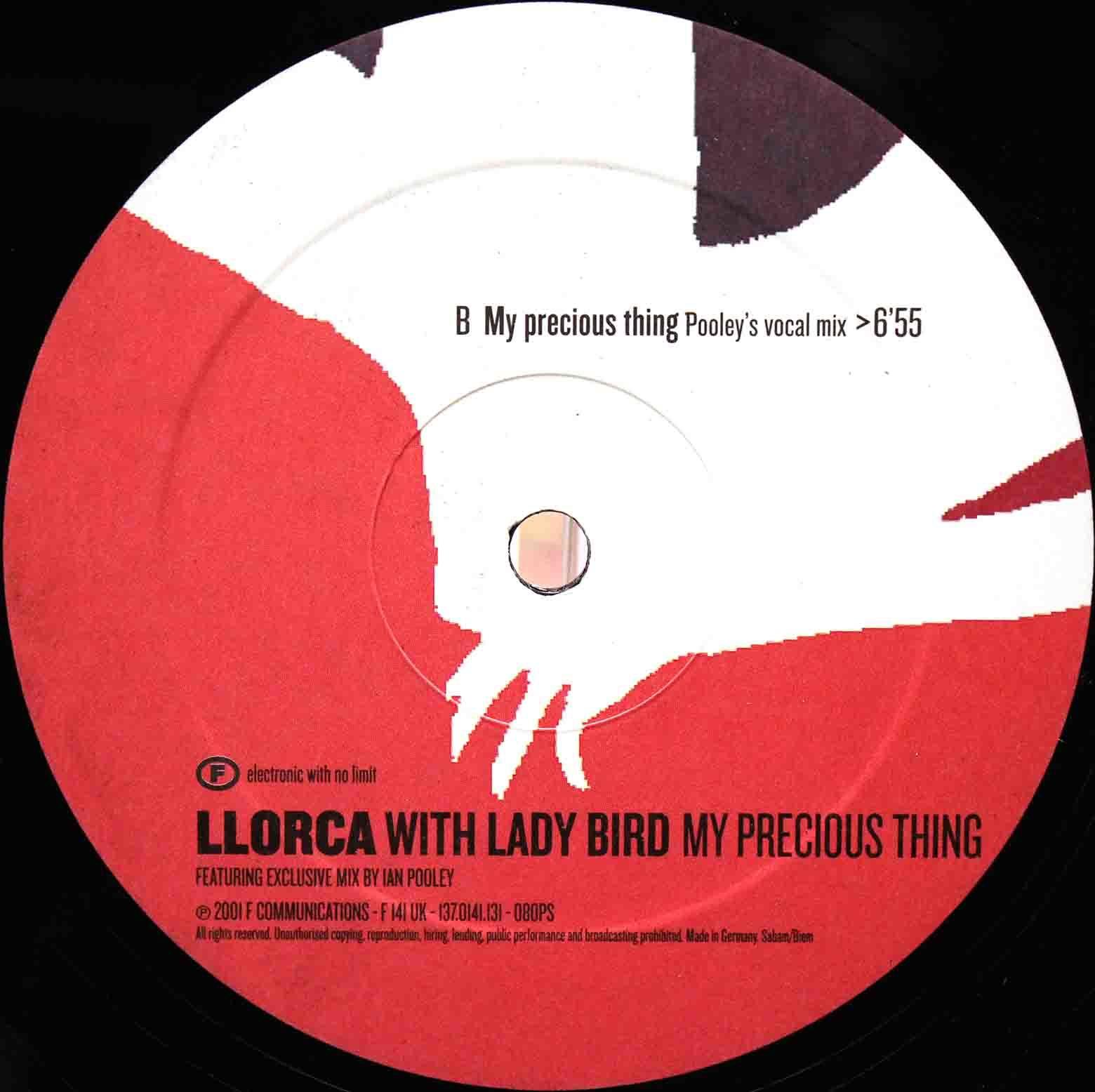 Llorca feat Lady Bird My Precious Thing 01 (3)