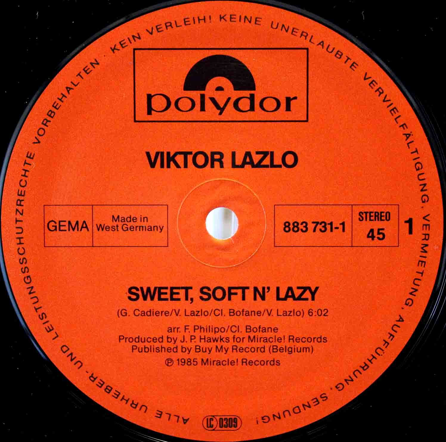 Viktor Lazlo ‎– Sweet, Soft N Lazy 03