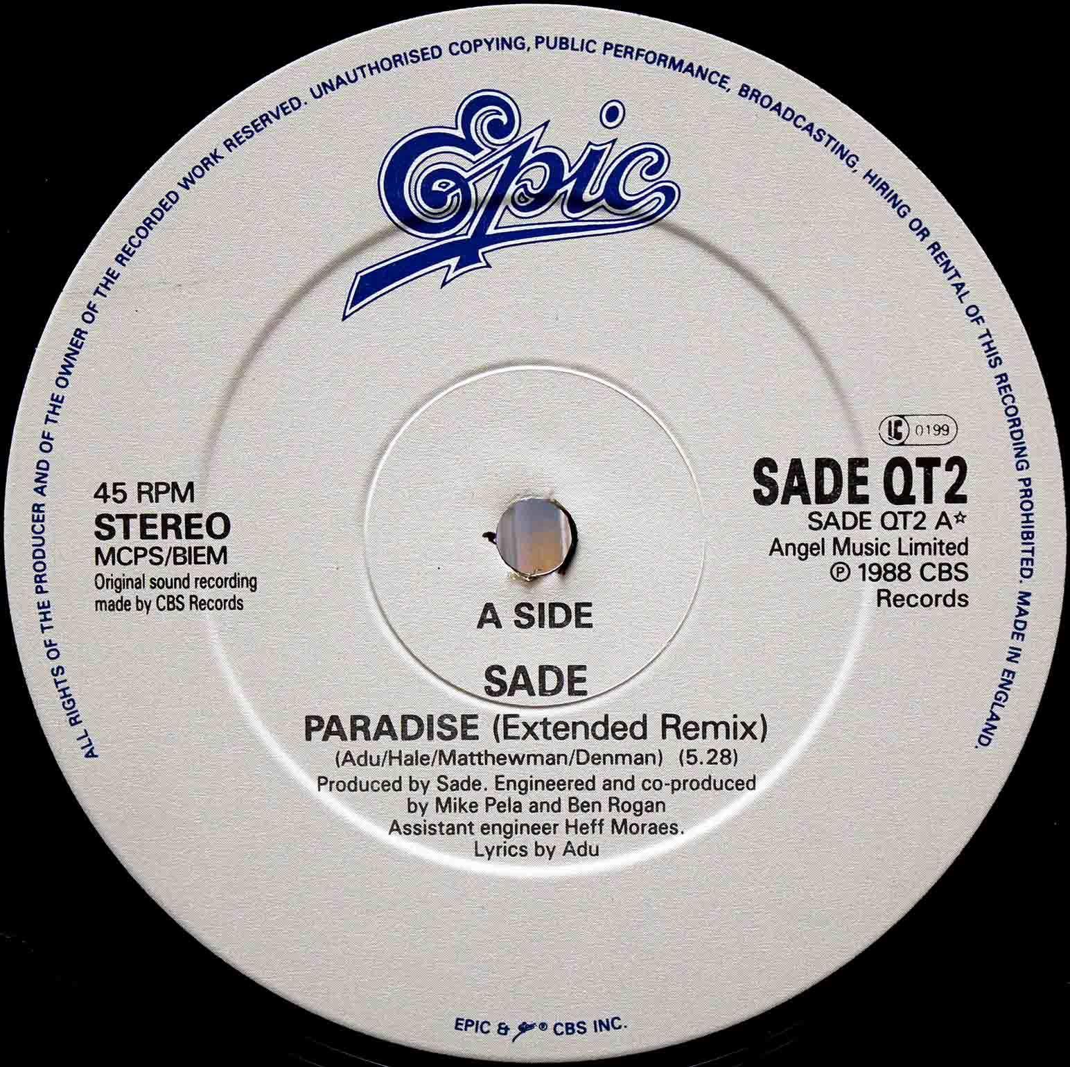 sade - Paradise 03