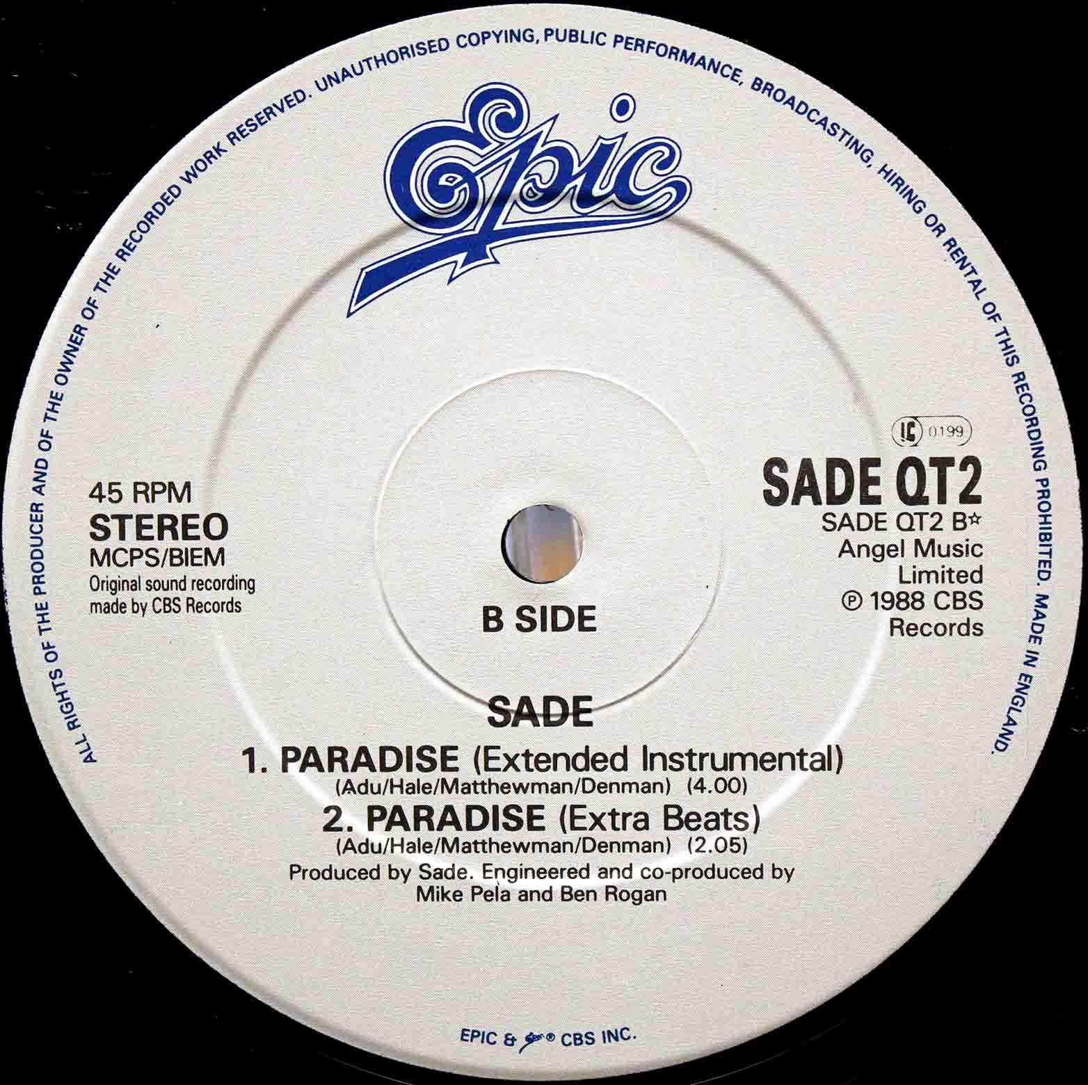 sade - Paradise 04