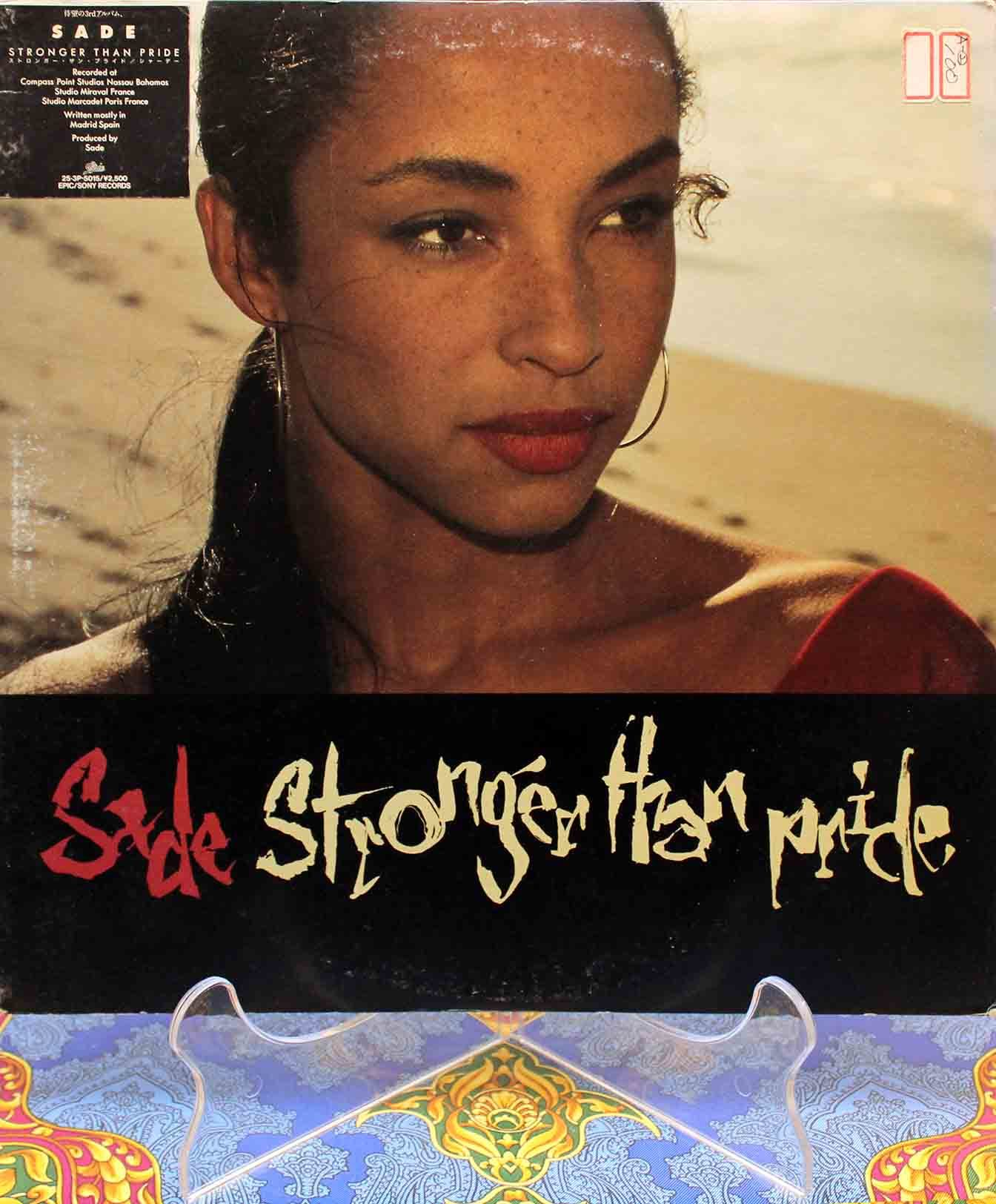 Sade ‎– Stronger Than Pride 01