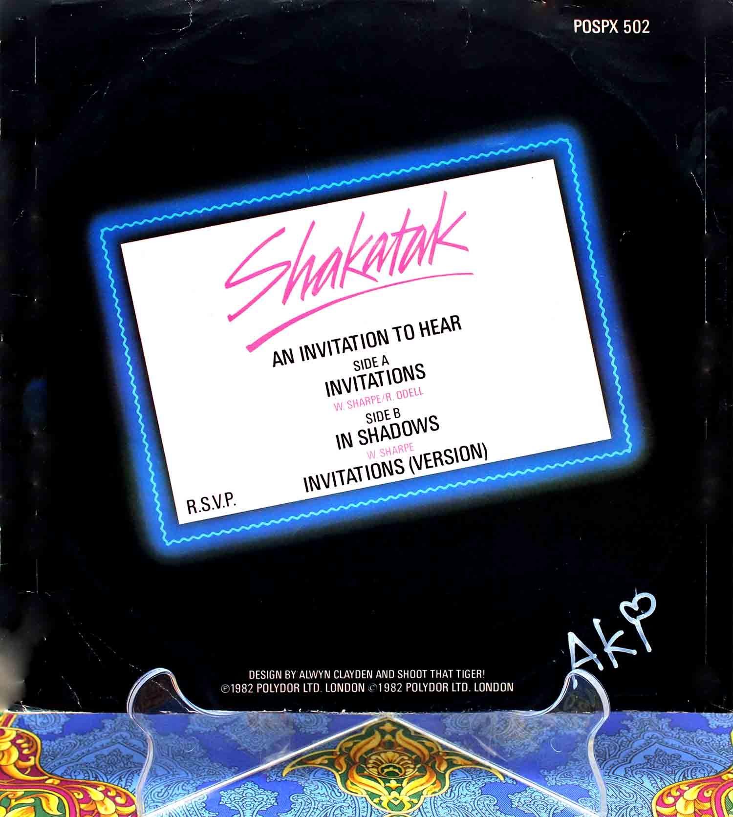 Shakatak – Invitations 02