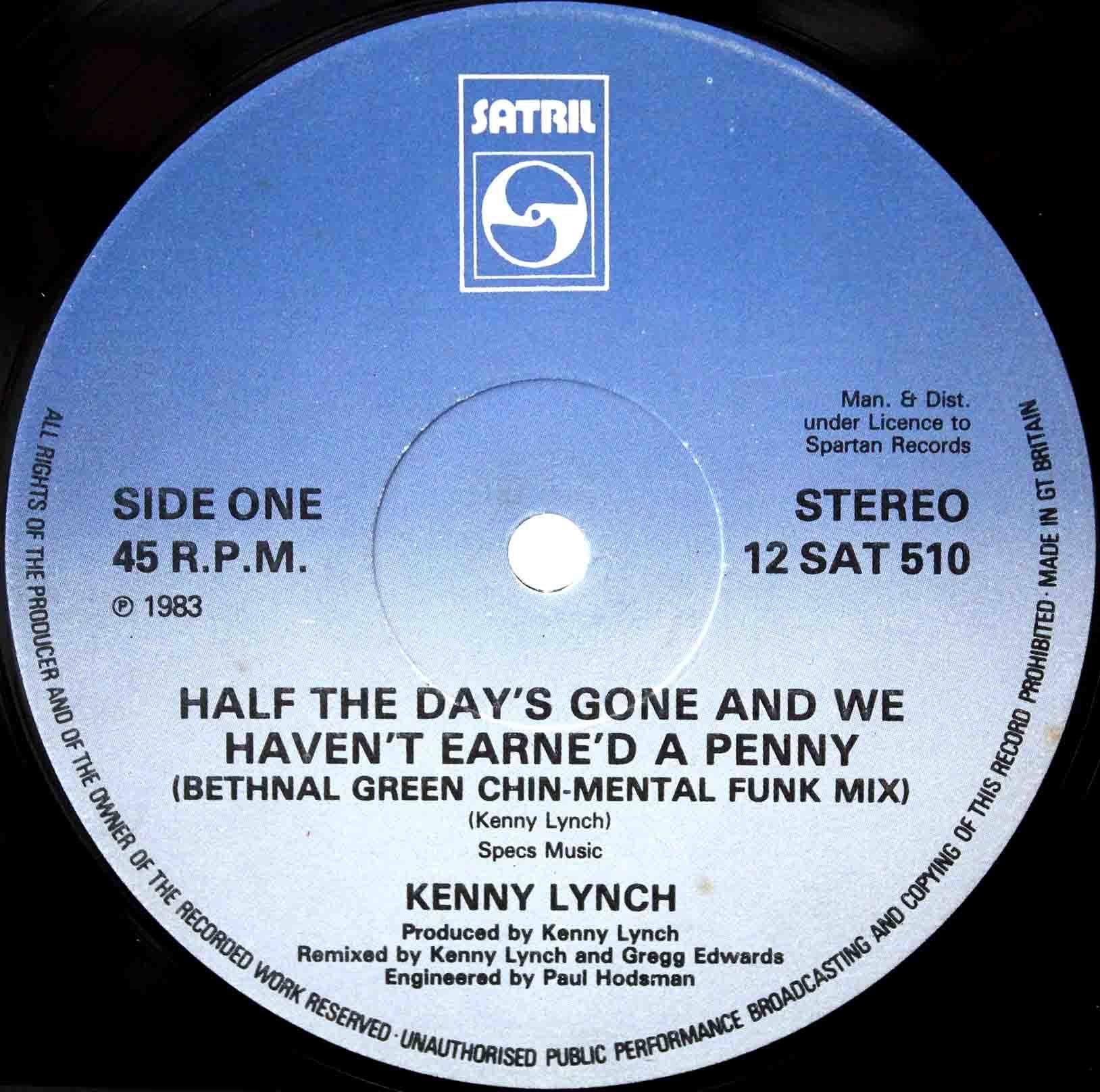 Kenny Lynch – Half The Days Gone 02
