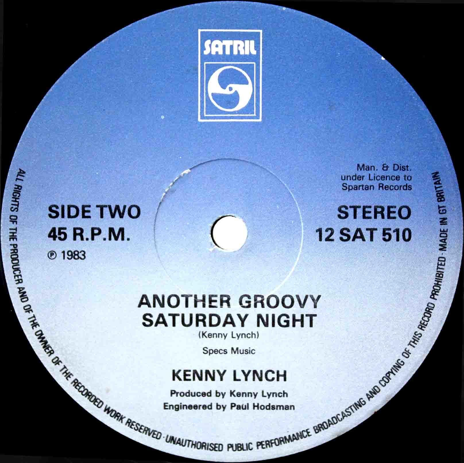Kenny Lynch – Half The Days Gone 03
