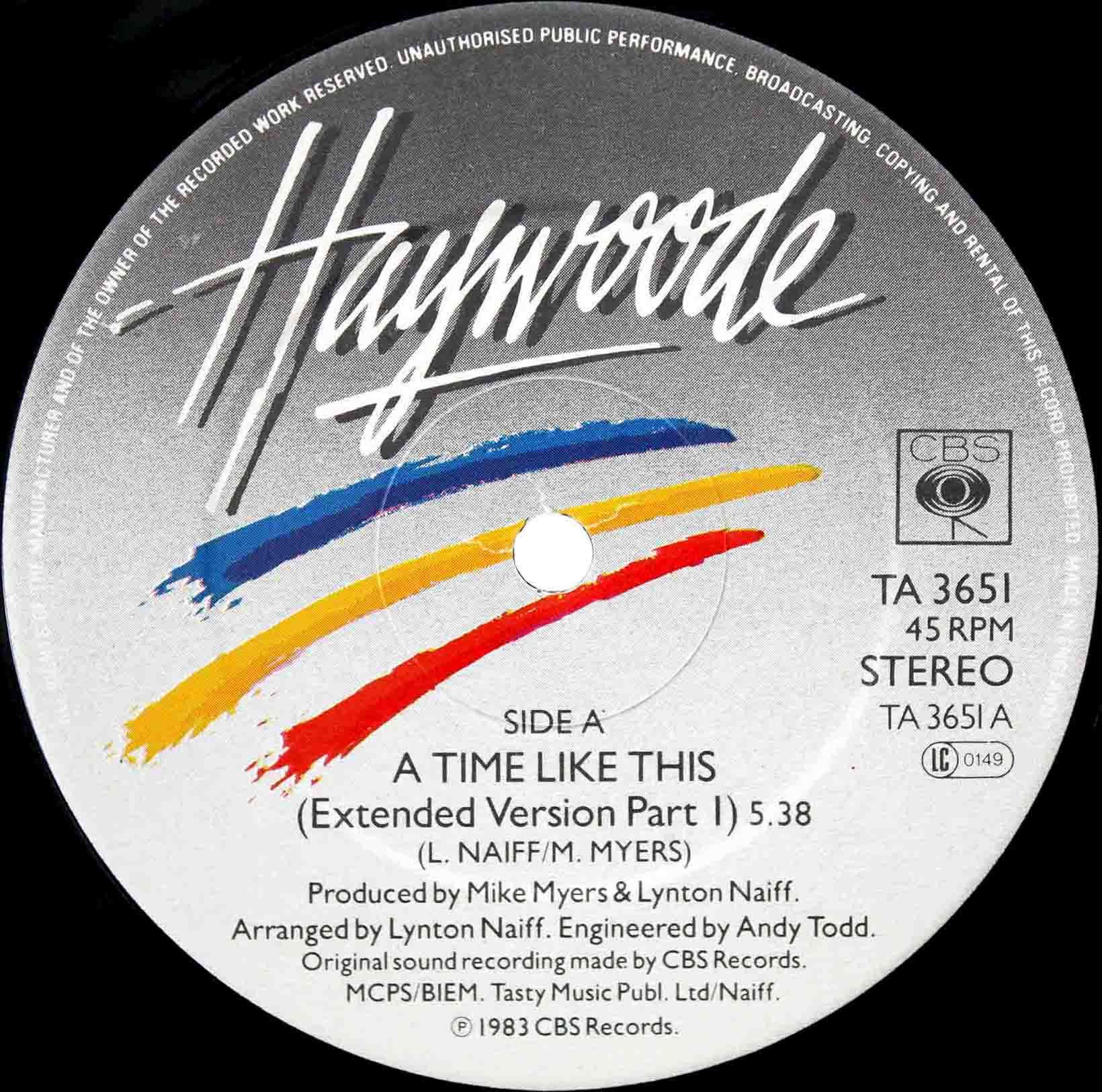 Haywoode – A Time Like This 03