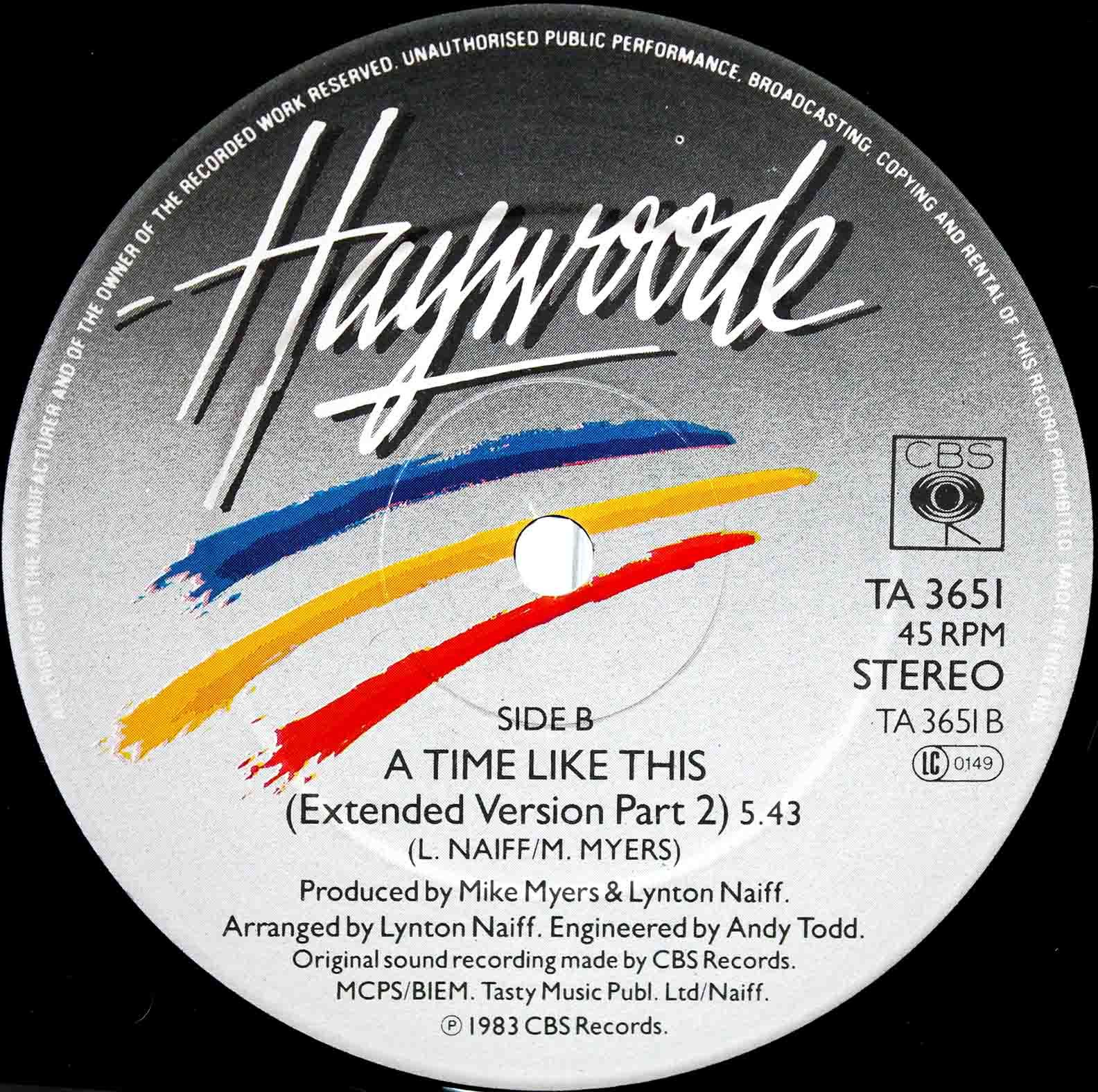 Haywoode – A Time Like This 04