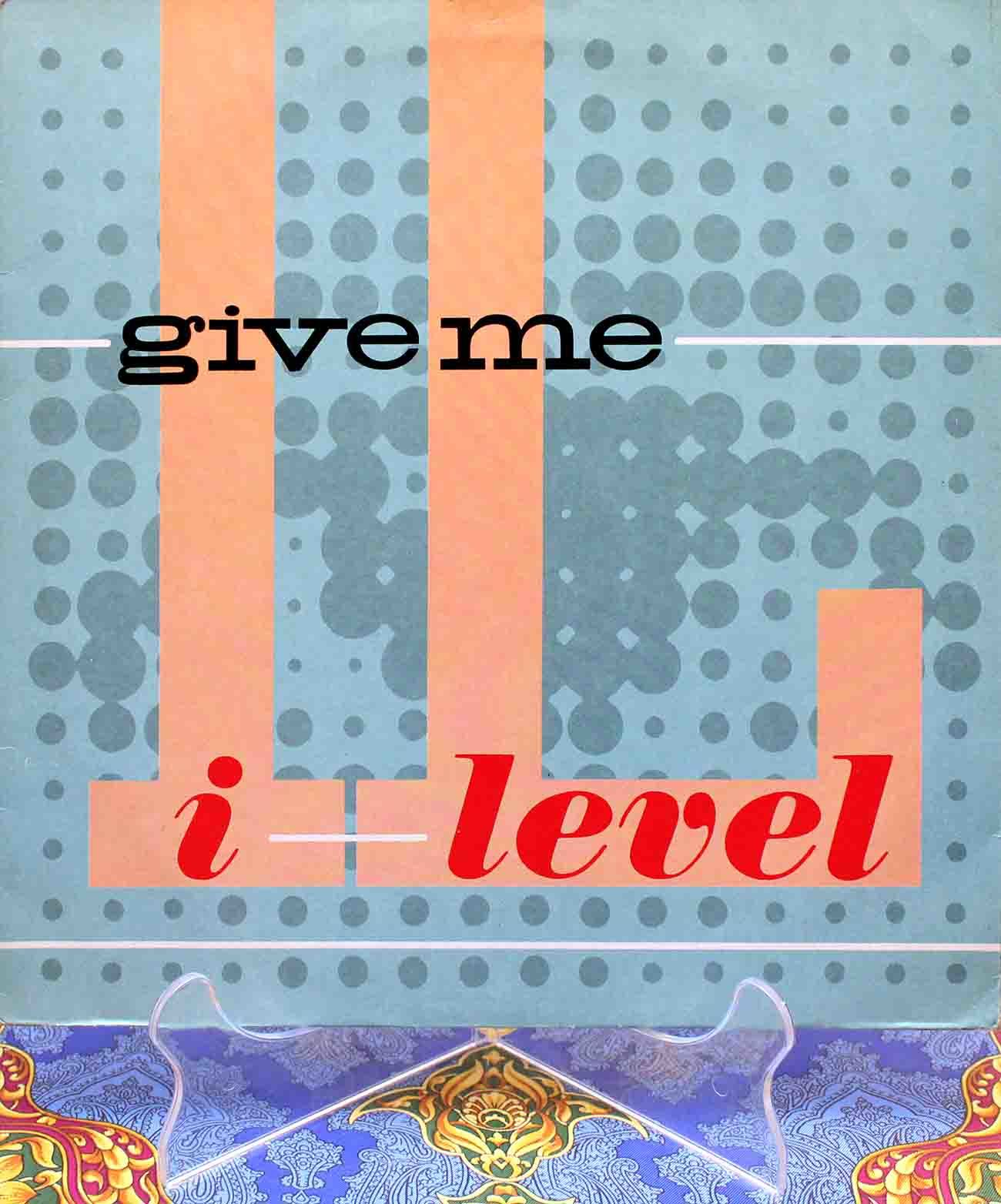 I-Level - Give Me 01