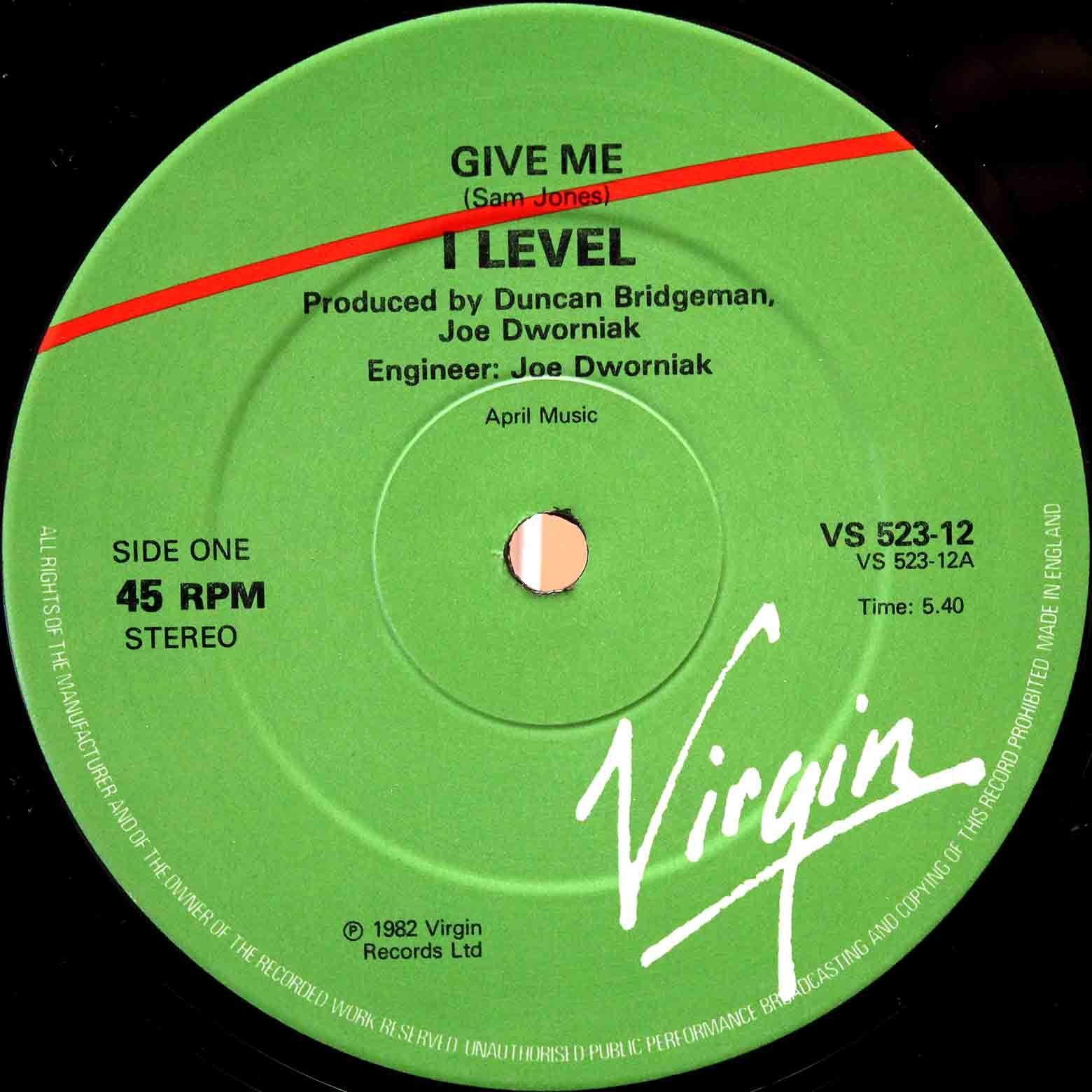 I-Level - Give Me 03