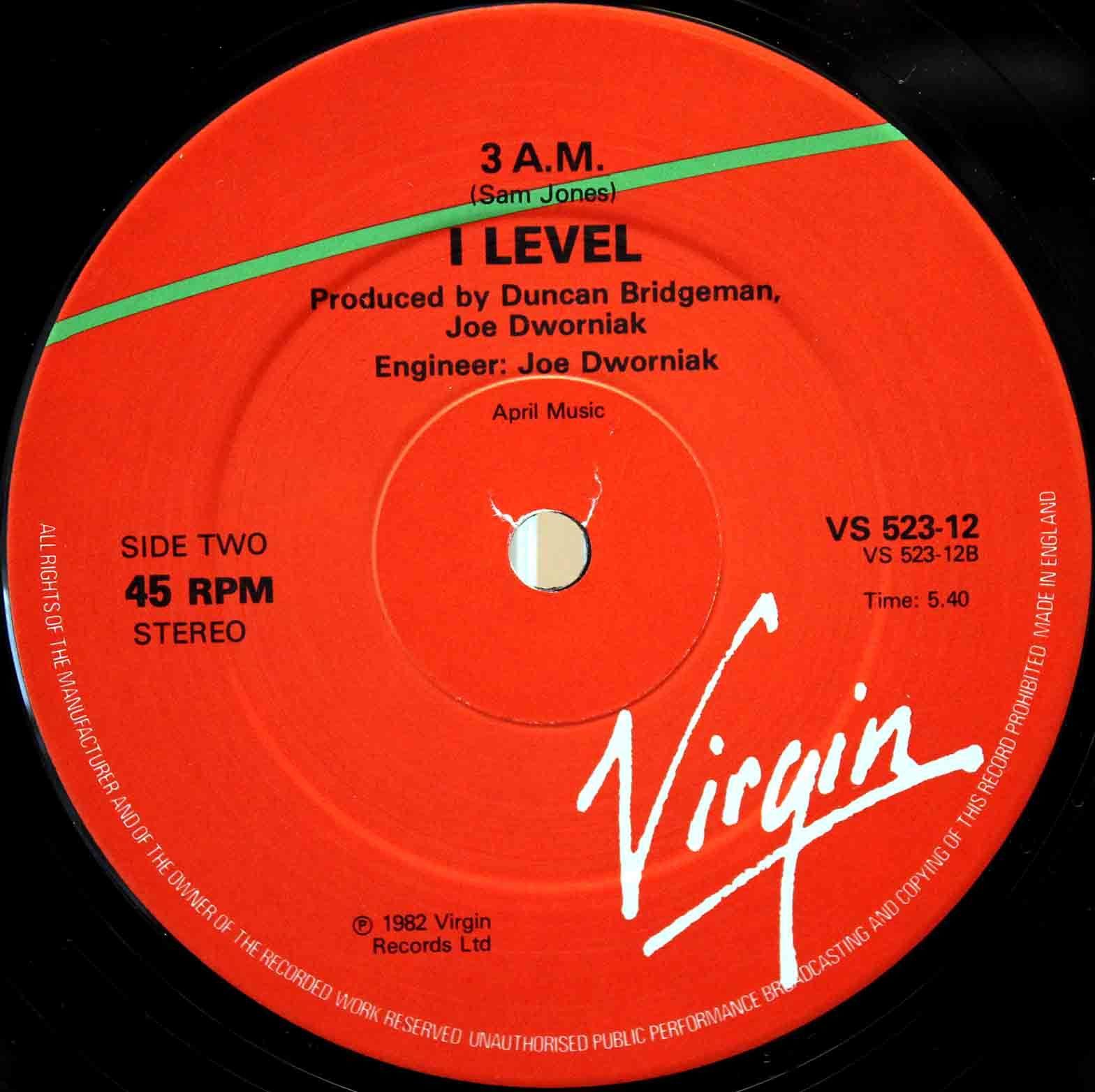 I-Level - Give Me 04