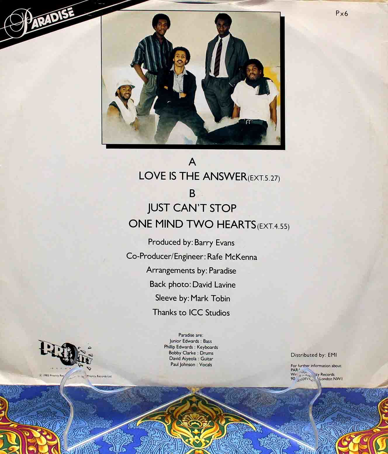 Paradise – Love Is The Answer 02