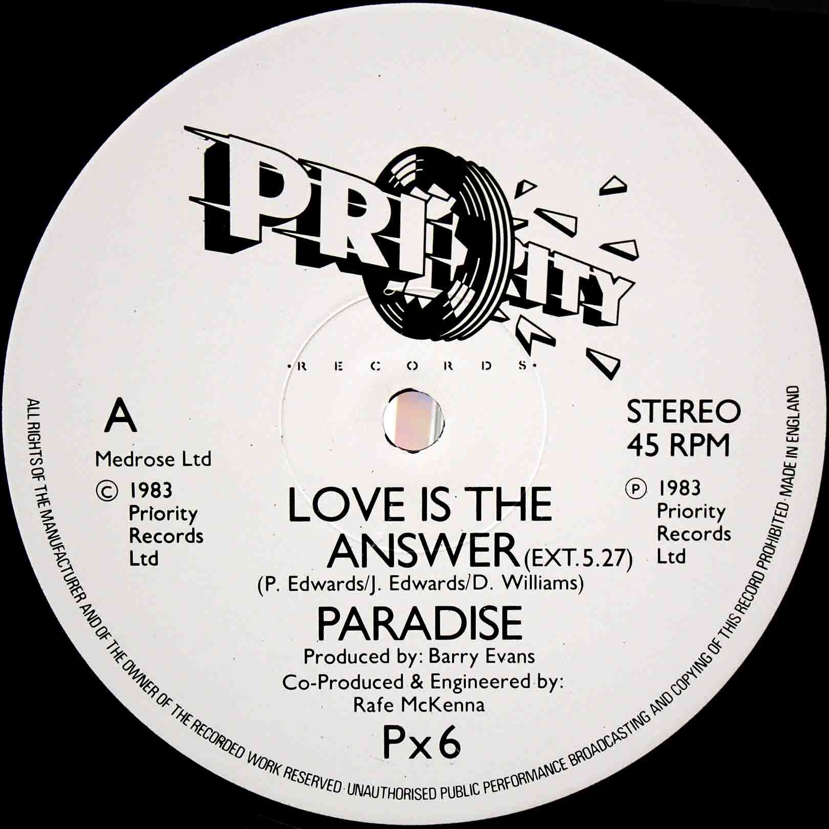 Paradise – Love Is The Answer 03