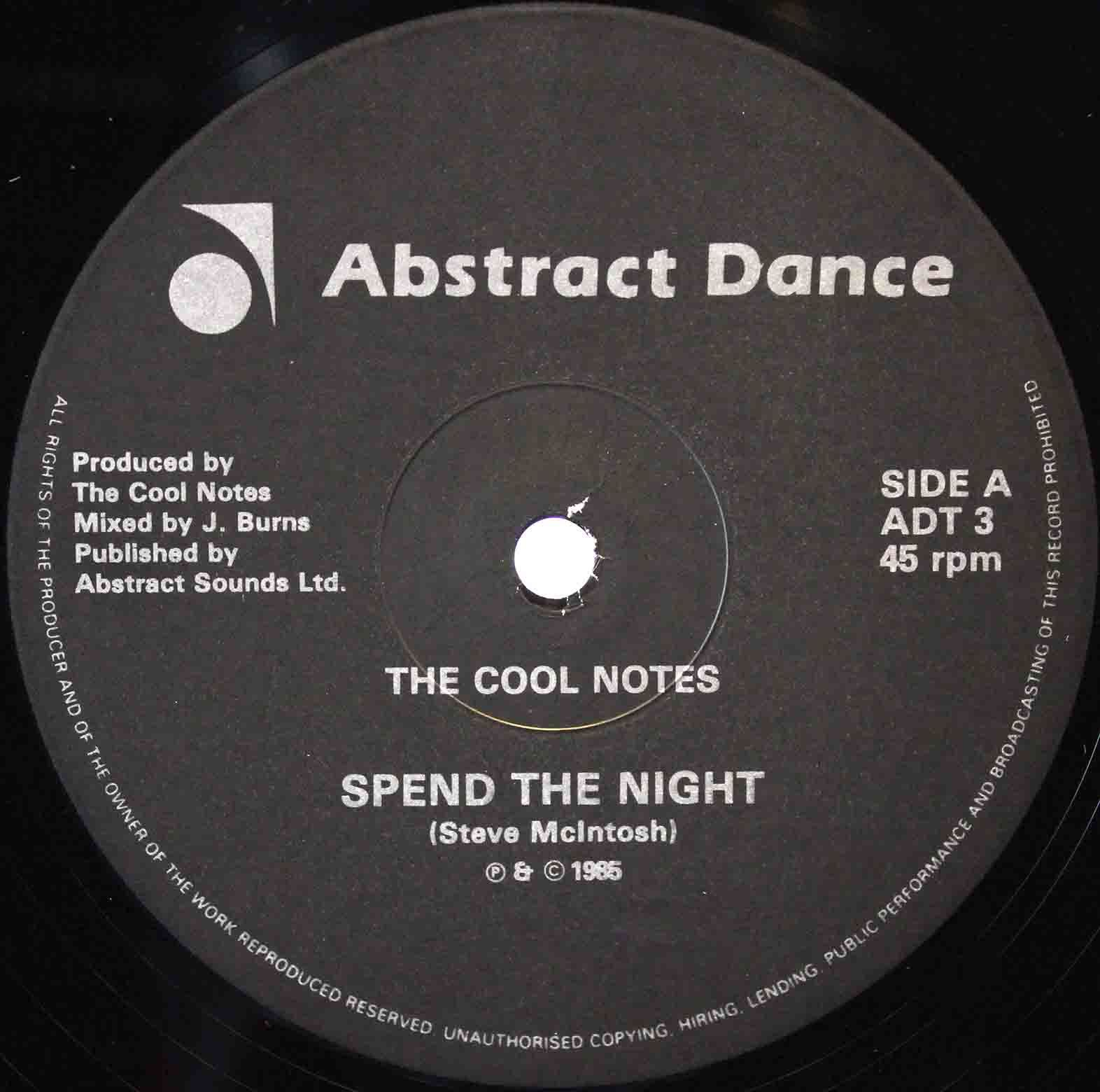 The Cool Notes ‎– Spend The Night 03