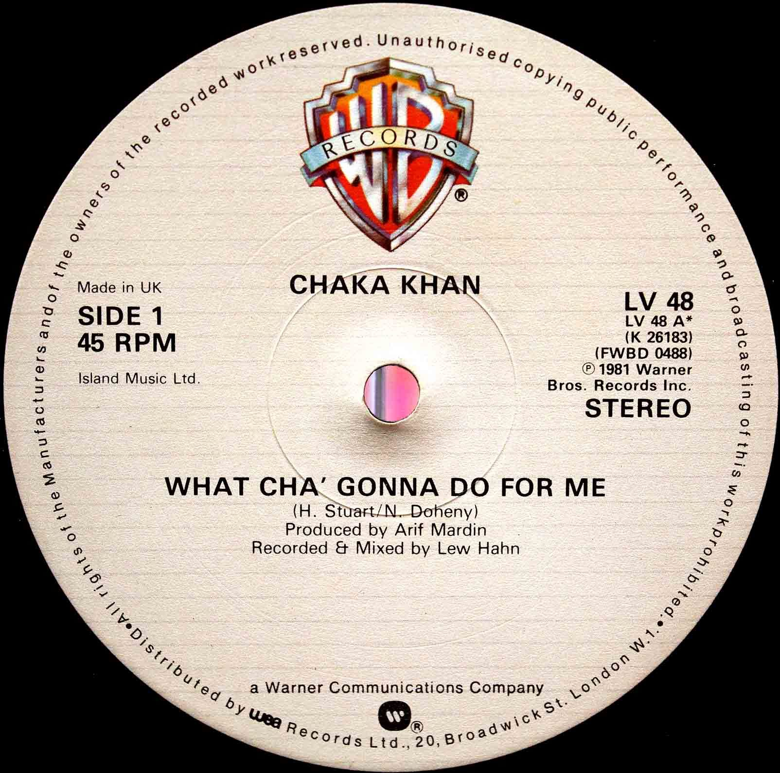 Chaka Khan - What Cha Gonna Do For Me 03