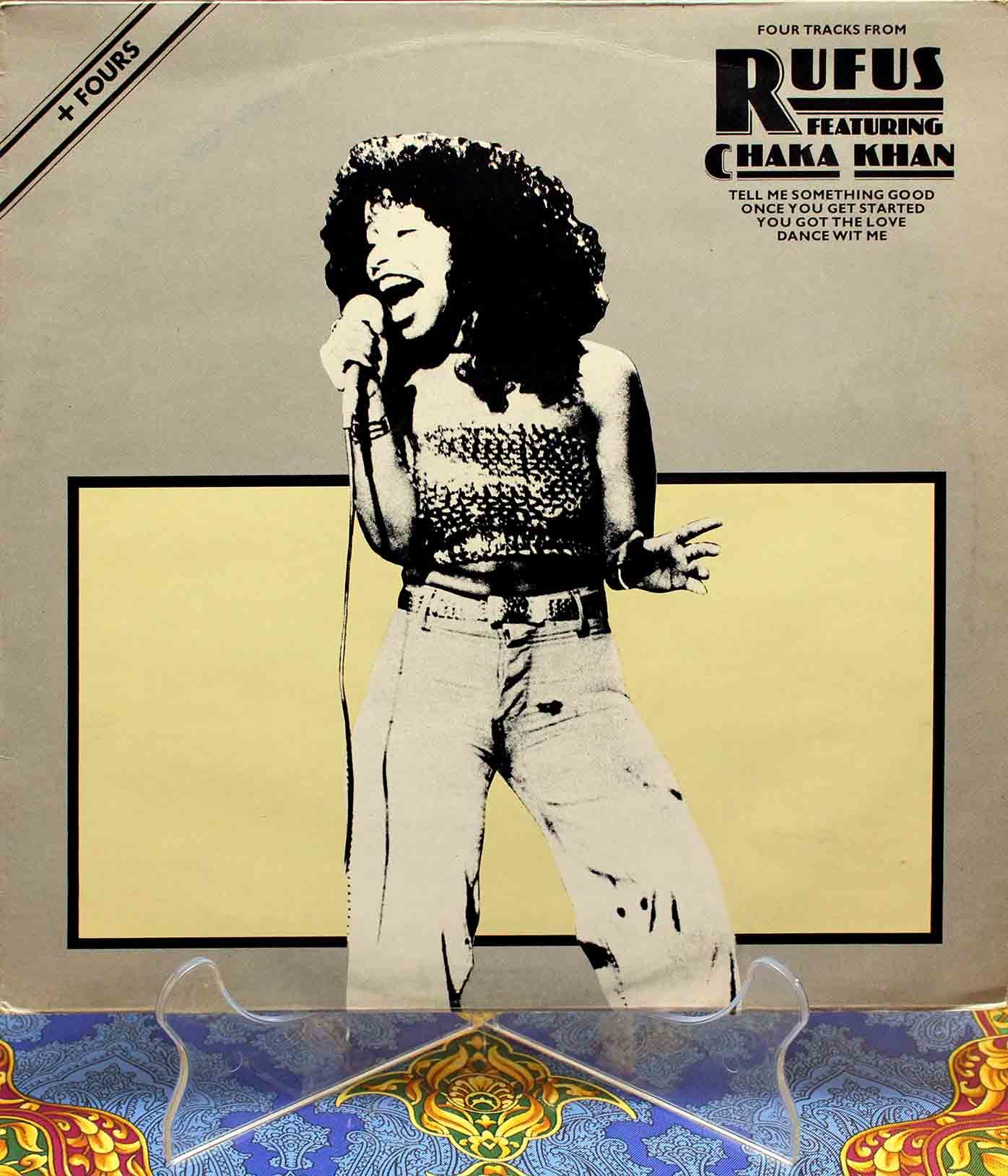 Rufus Featuring Chaka Khan ‎– Four Tracks 01