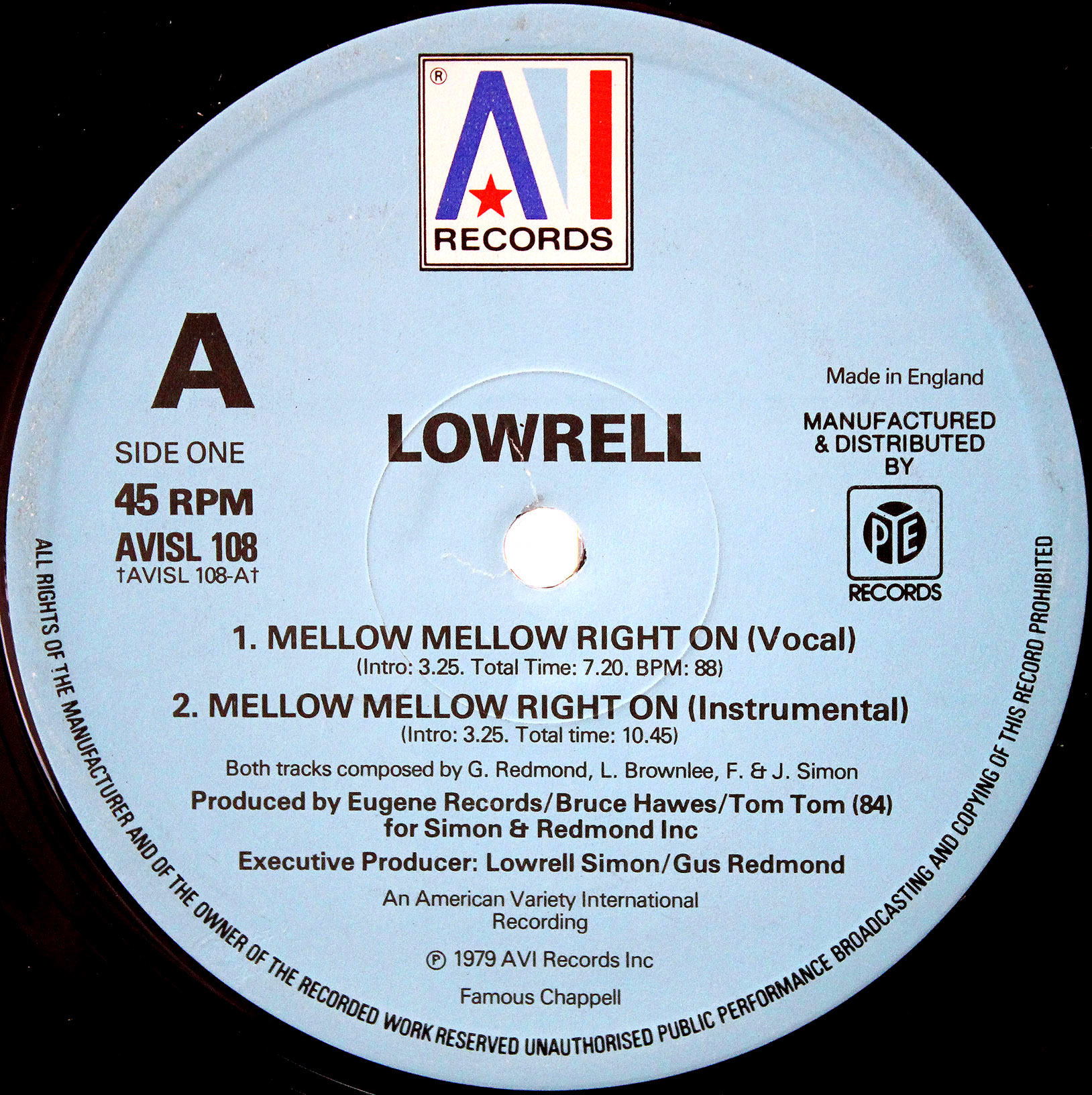 Lowrell - Mellow Mellow Right On 03