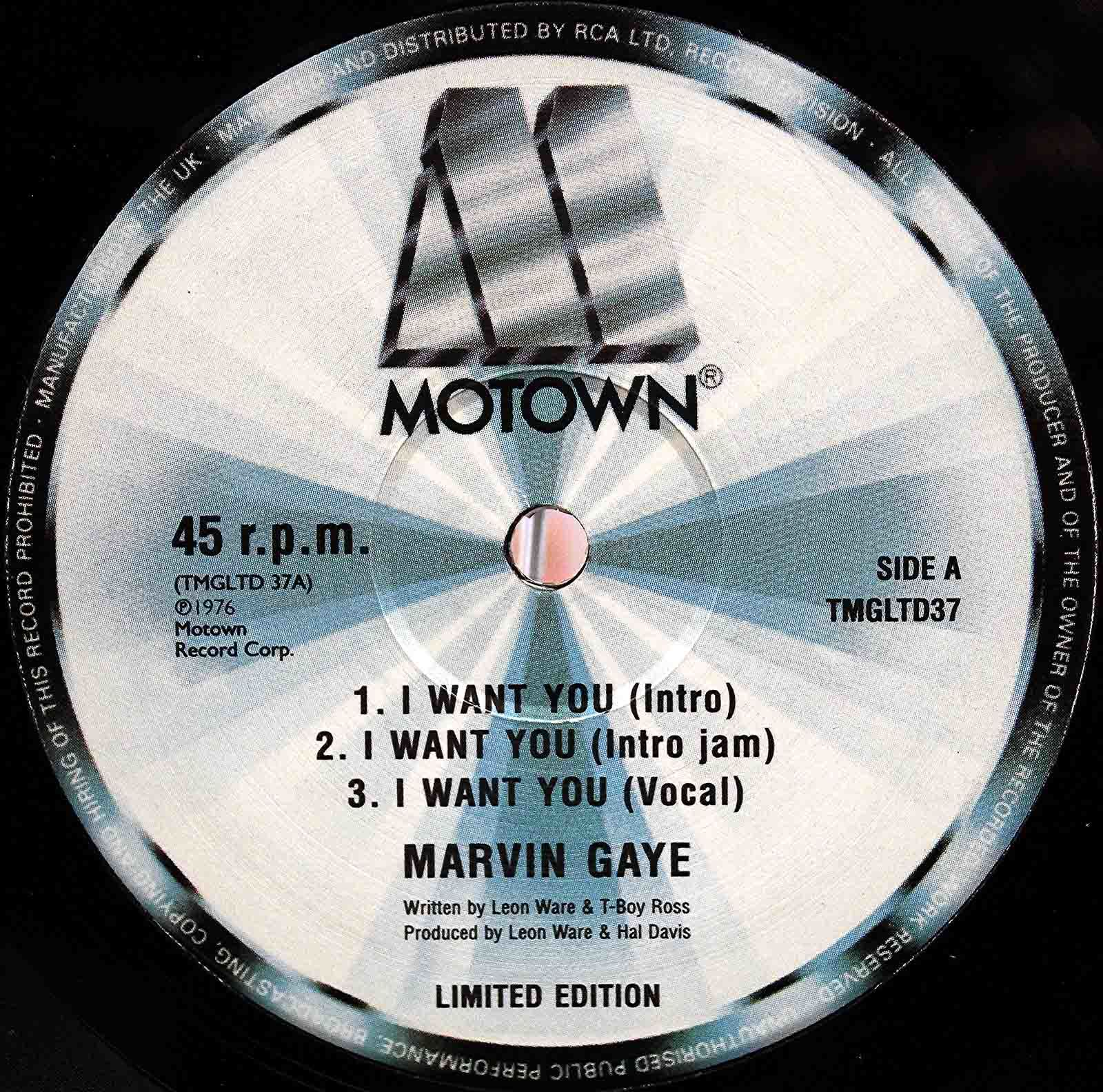 Marvin Gaye - I want you 12inch 03