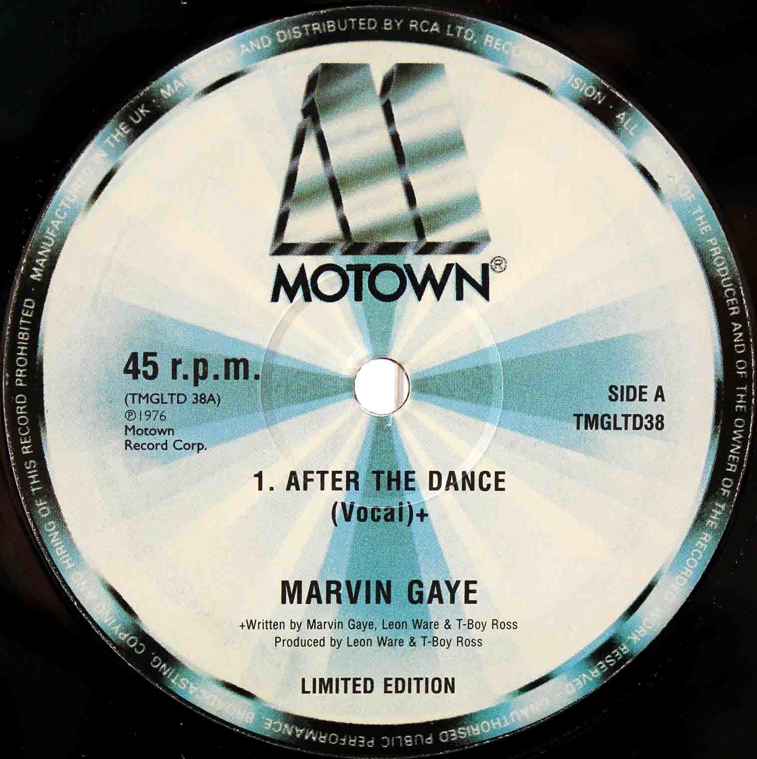 Marvin Gaye – after the dance 03