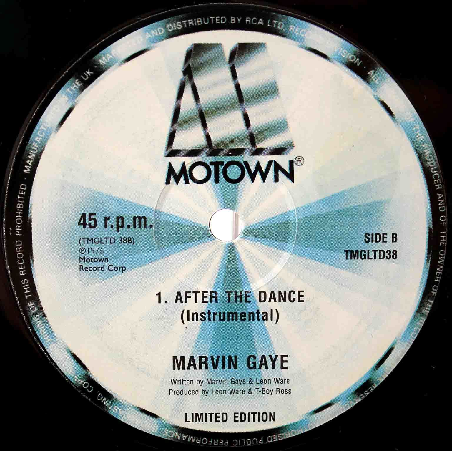 Marvin Gaye ‎– after the dance 04