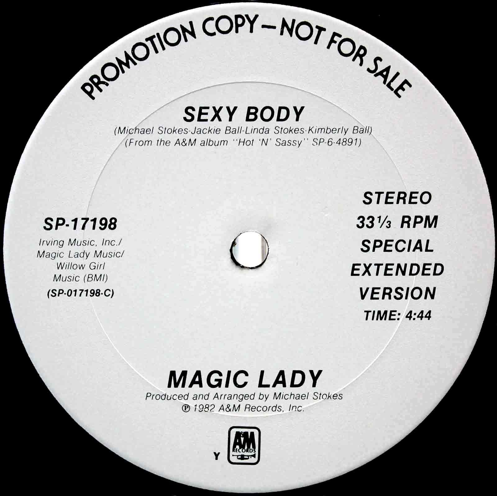 Magic Lady – Sexy Body 03