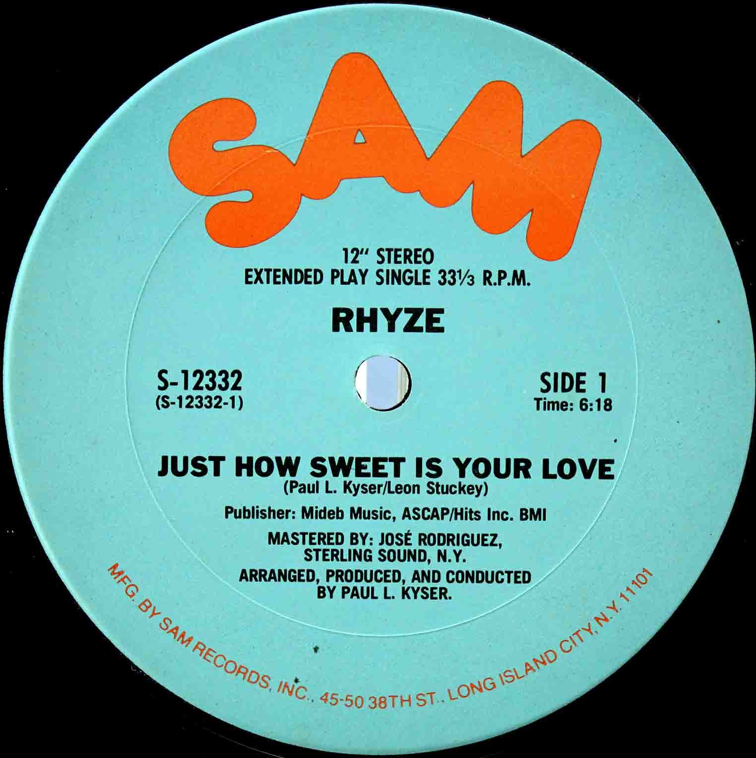 Rhyze – Just How Sweet Is Your Love 03