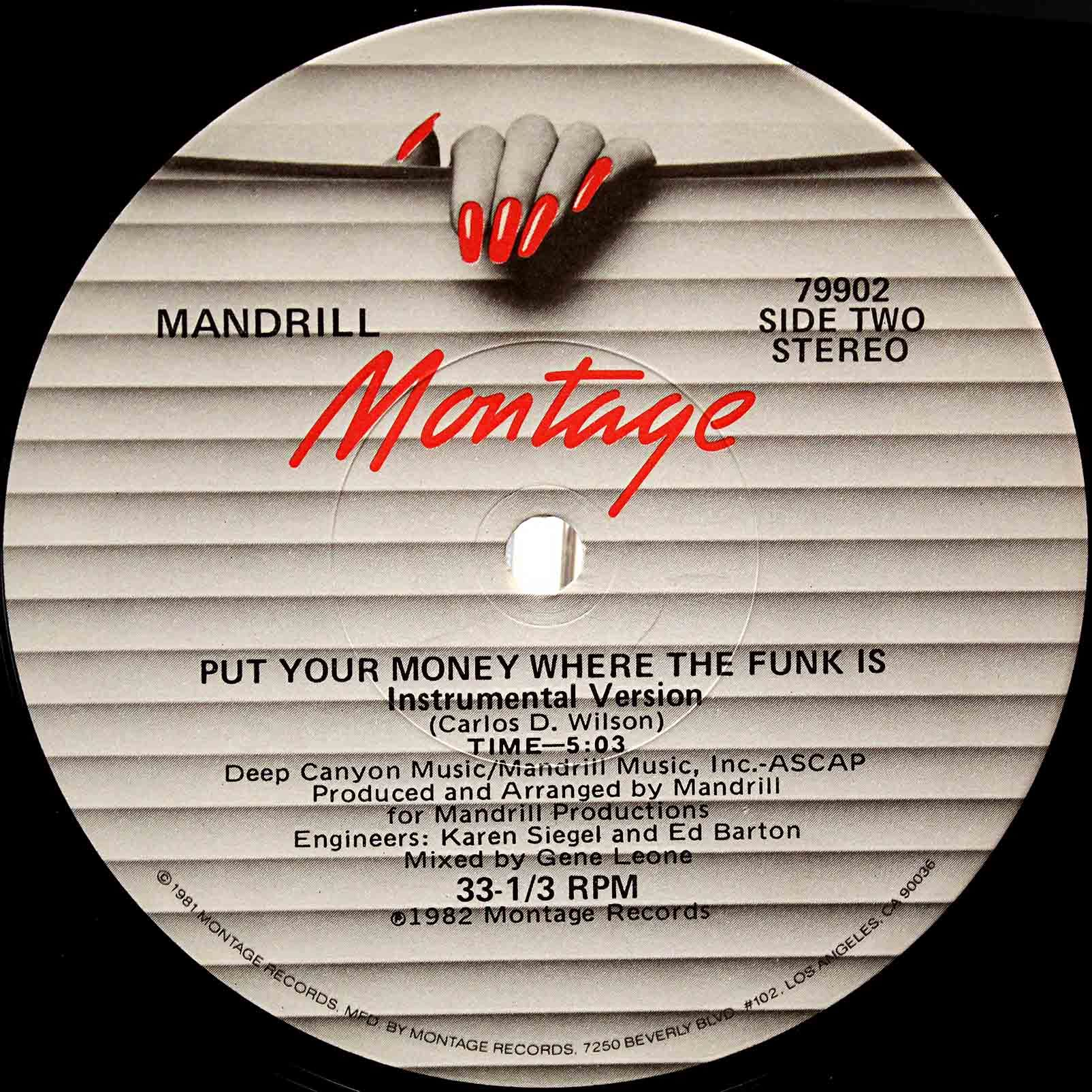 Mandrill ‎– Put Your Money Where The Funk Is 04