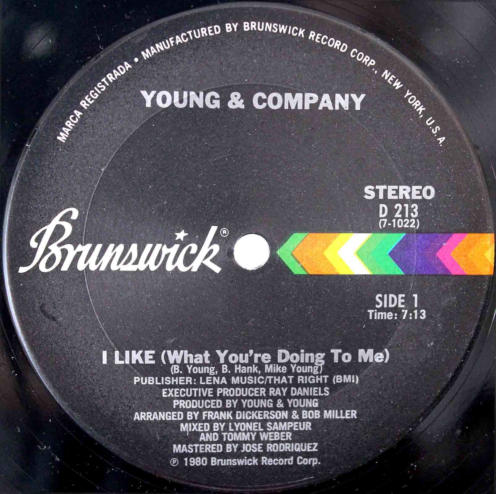 Young Company ‎– I Like 03
