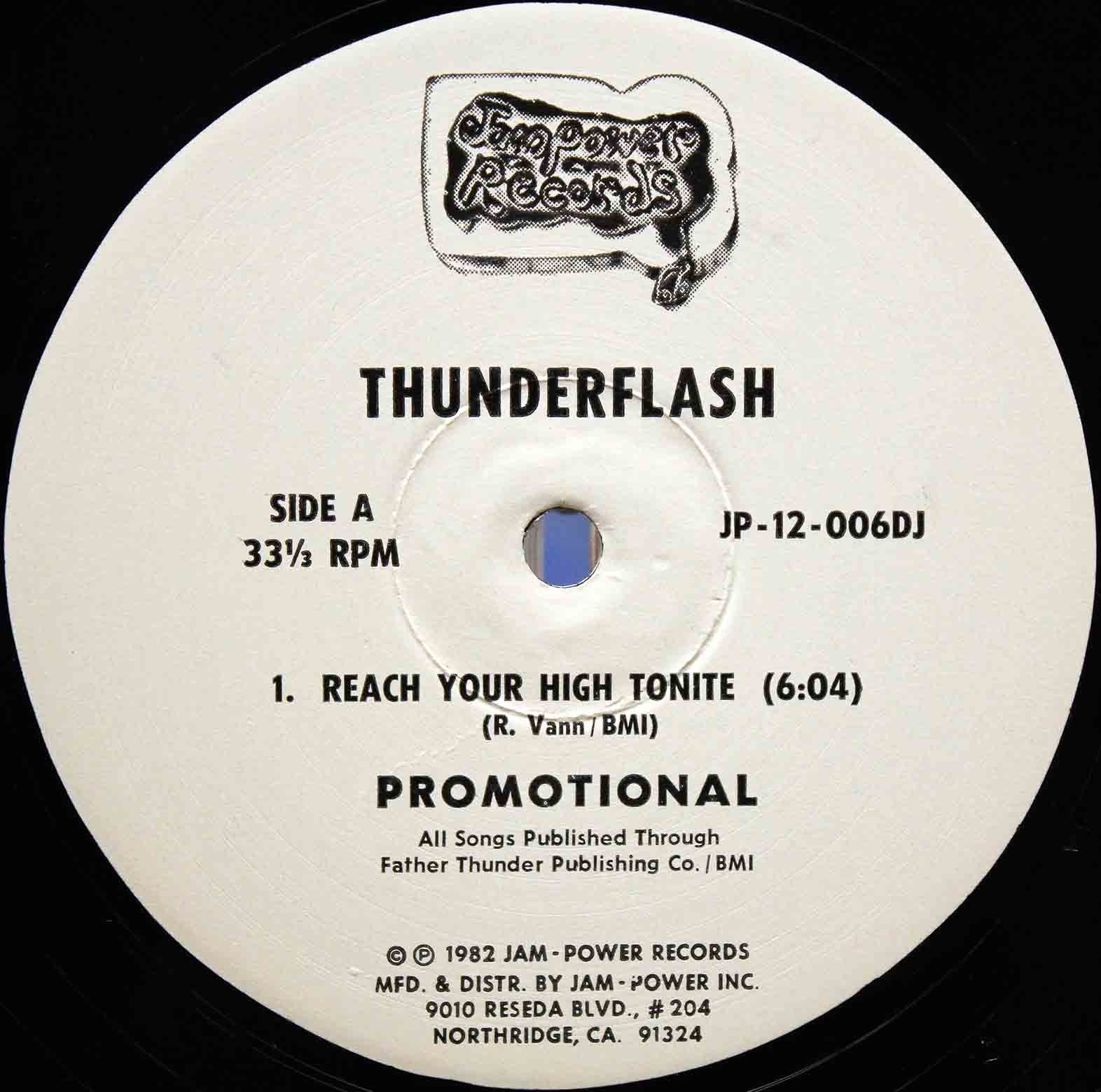 Thunderflash ‎– Reach Your High Tonite 03