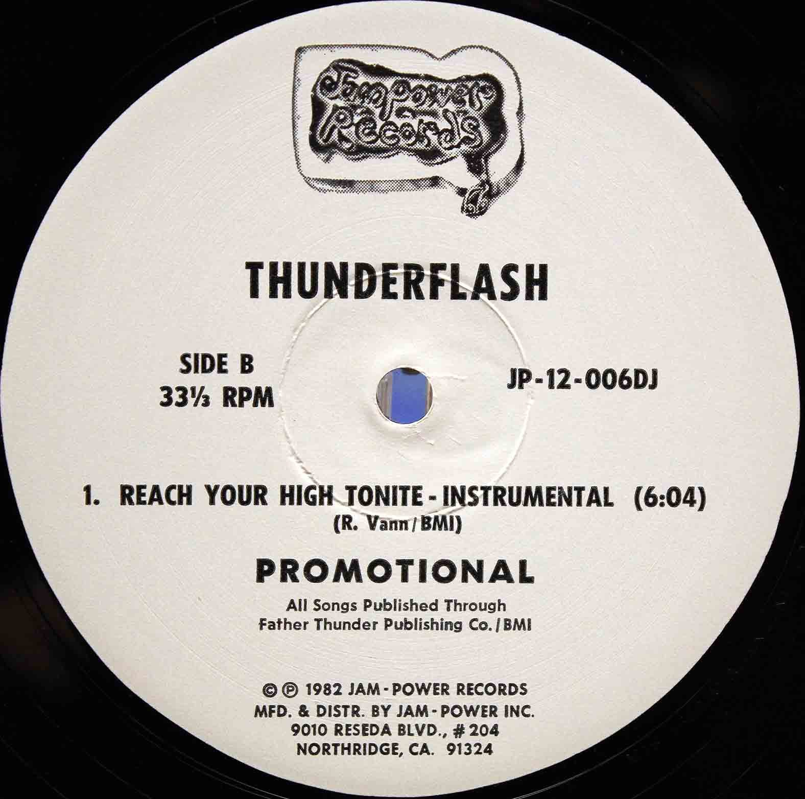 Thunderflash ‎– Reach Your High Tonite 04