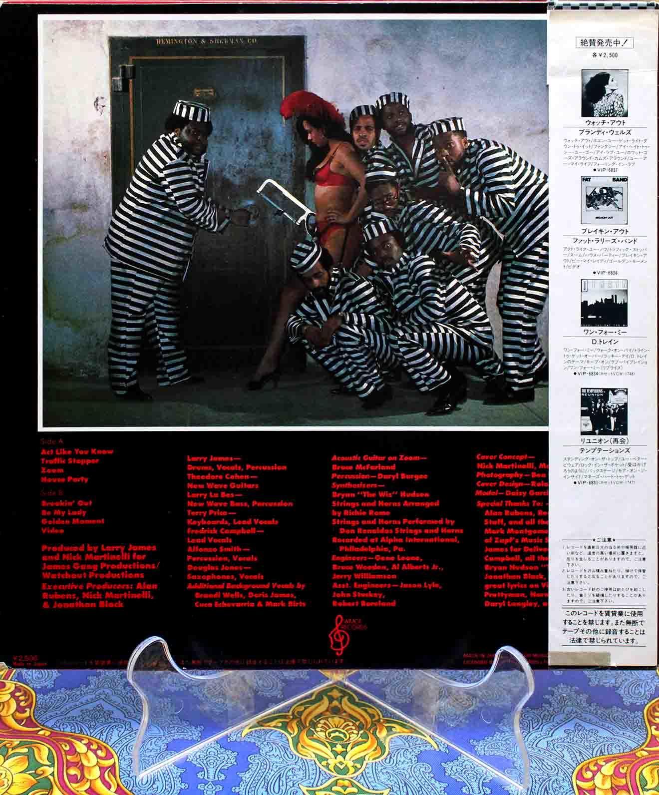 Fat Larrys Band – Breakin Out 02