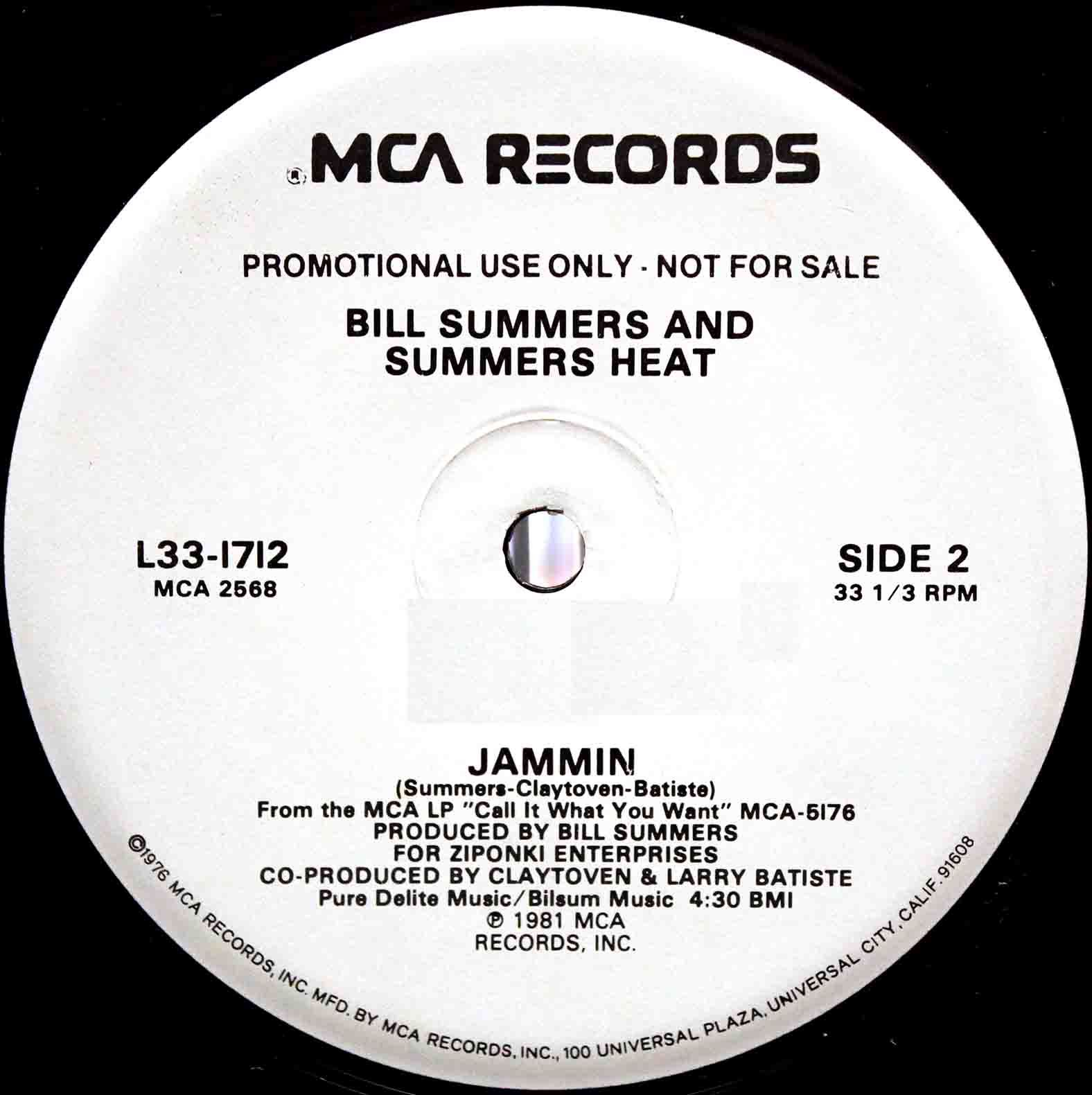 Bill Summers Summers Heat Call It What You Want 04