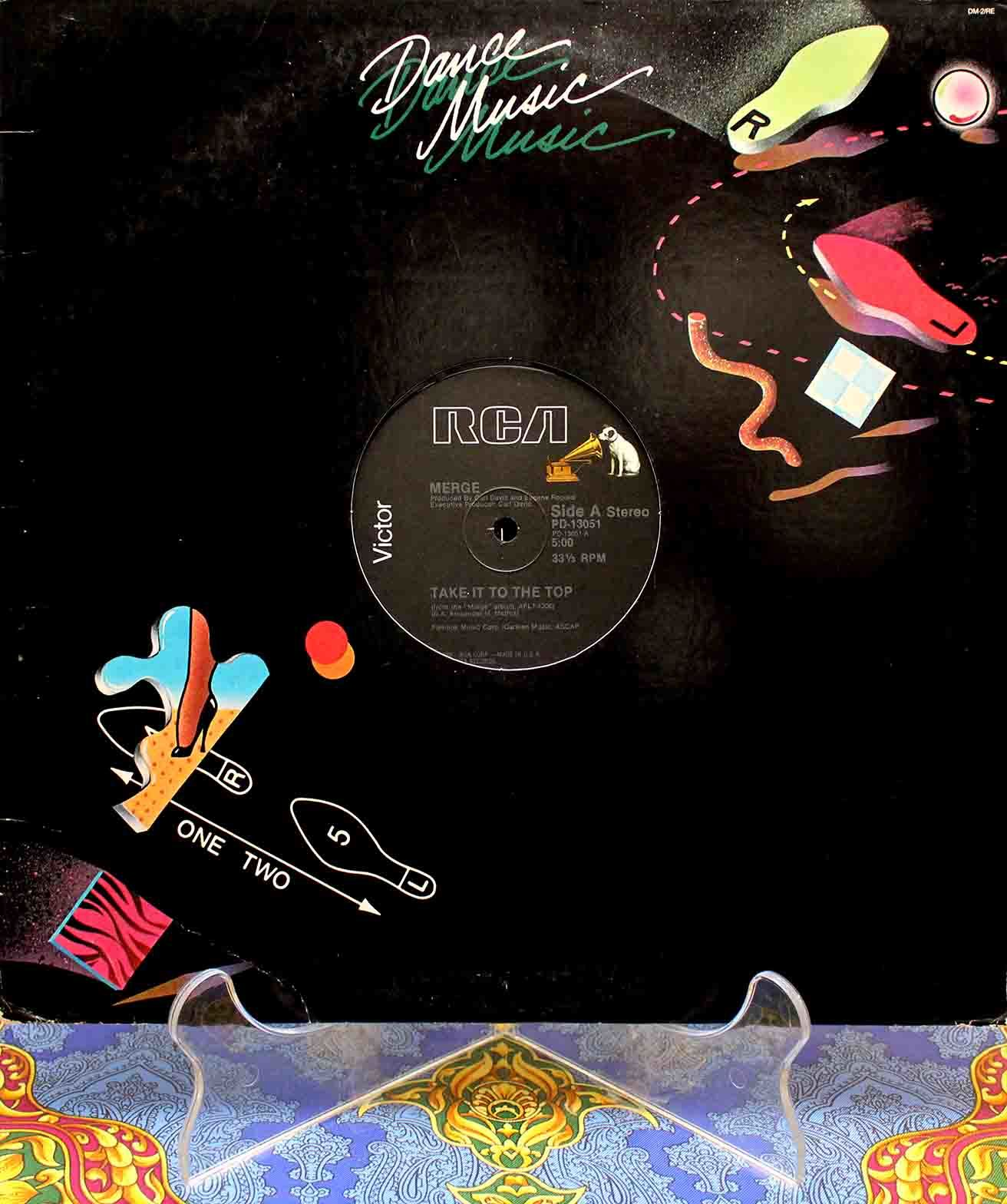 Merge Take It To The Top (US 12`Special Disco Version) 01