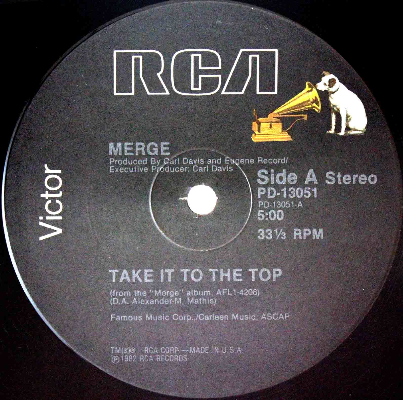 Merge Take It To The Top (US 12`Special Disco Version) 03