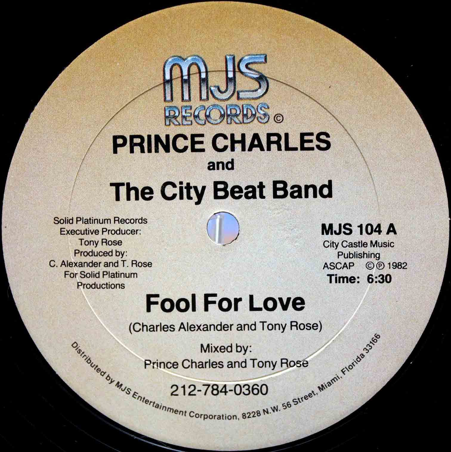 Prince Charles And The City Beat Band – Fool For Love 03