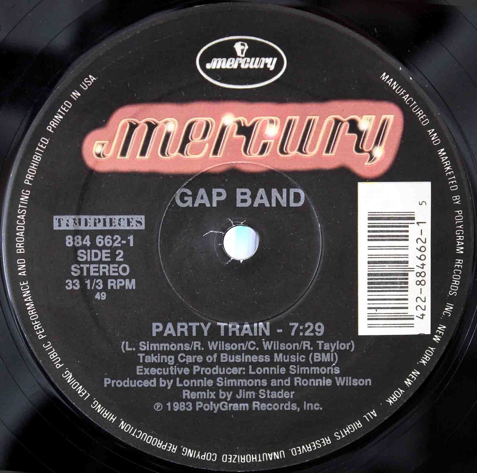 Gap band Party Train 02