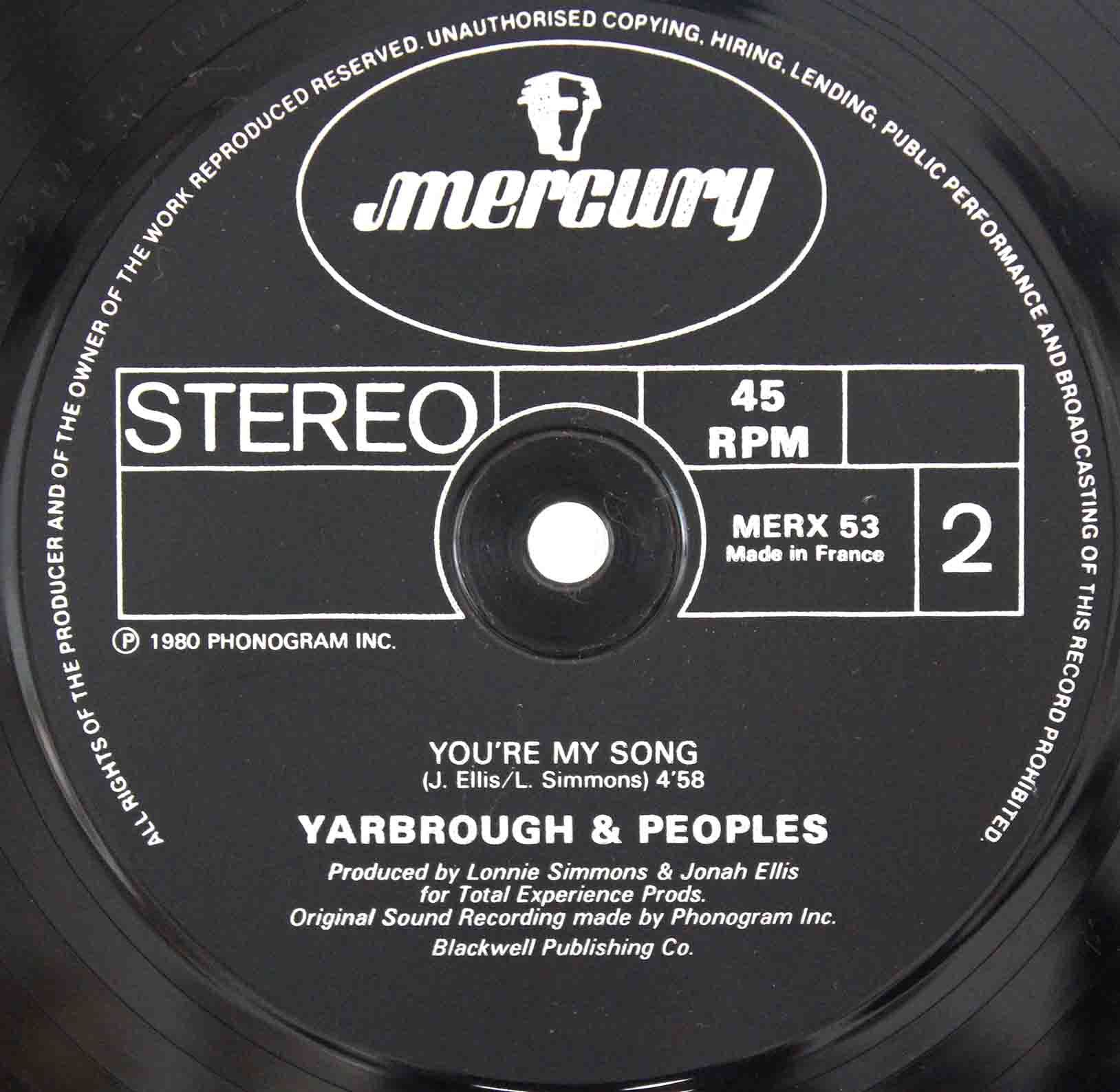 Yarbrough Peoples ‎– Dont Stop The Music 04