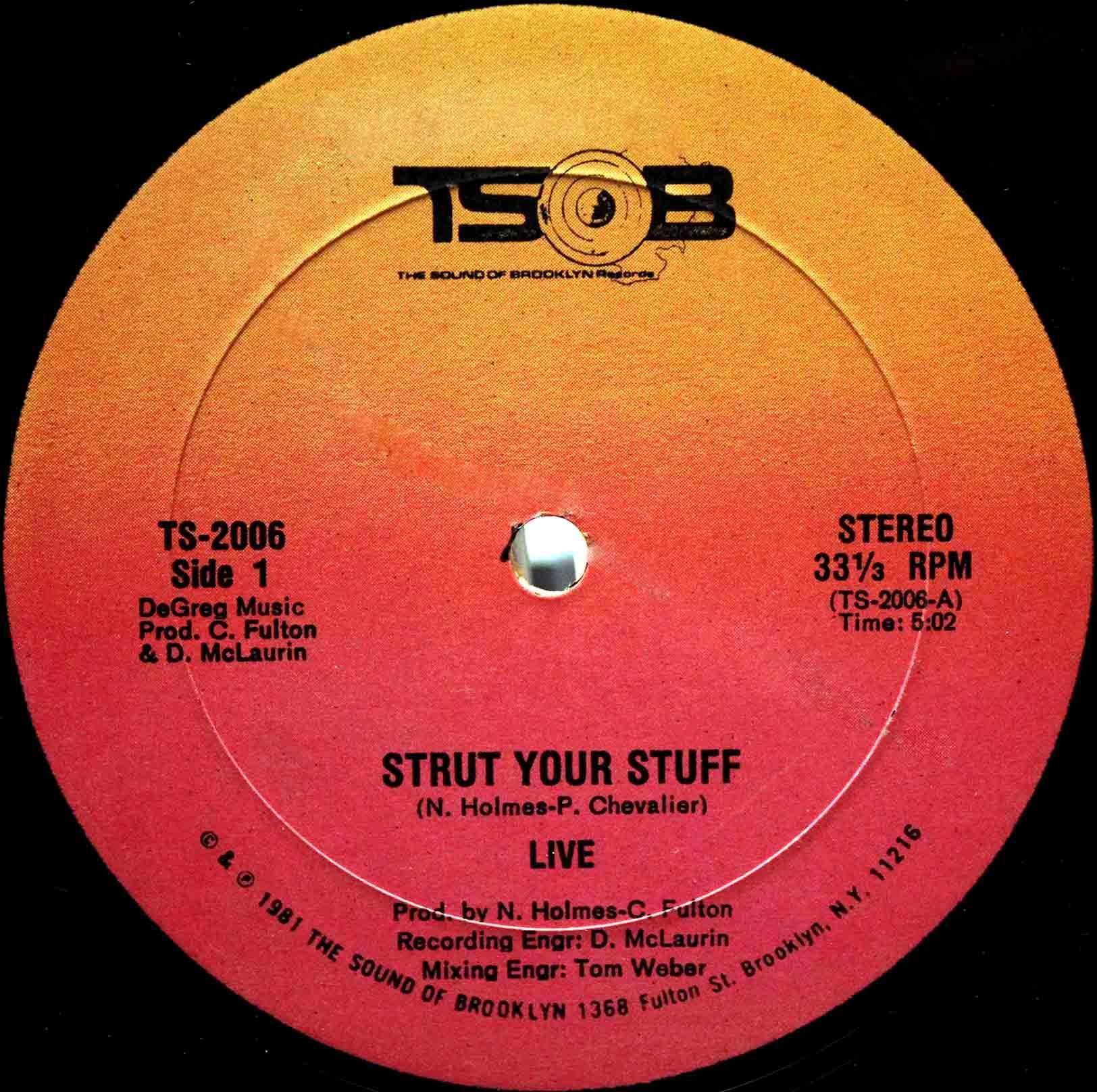 Live – Strut Your Stuff 03