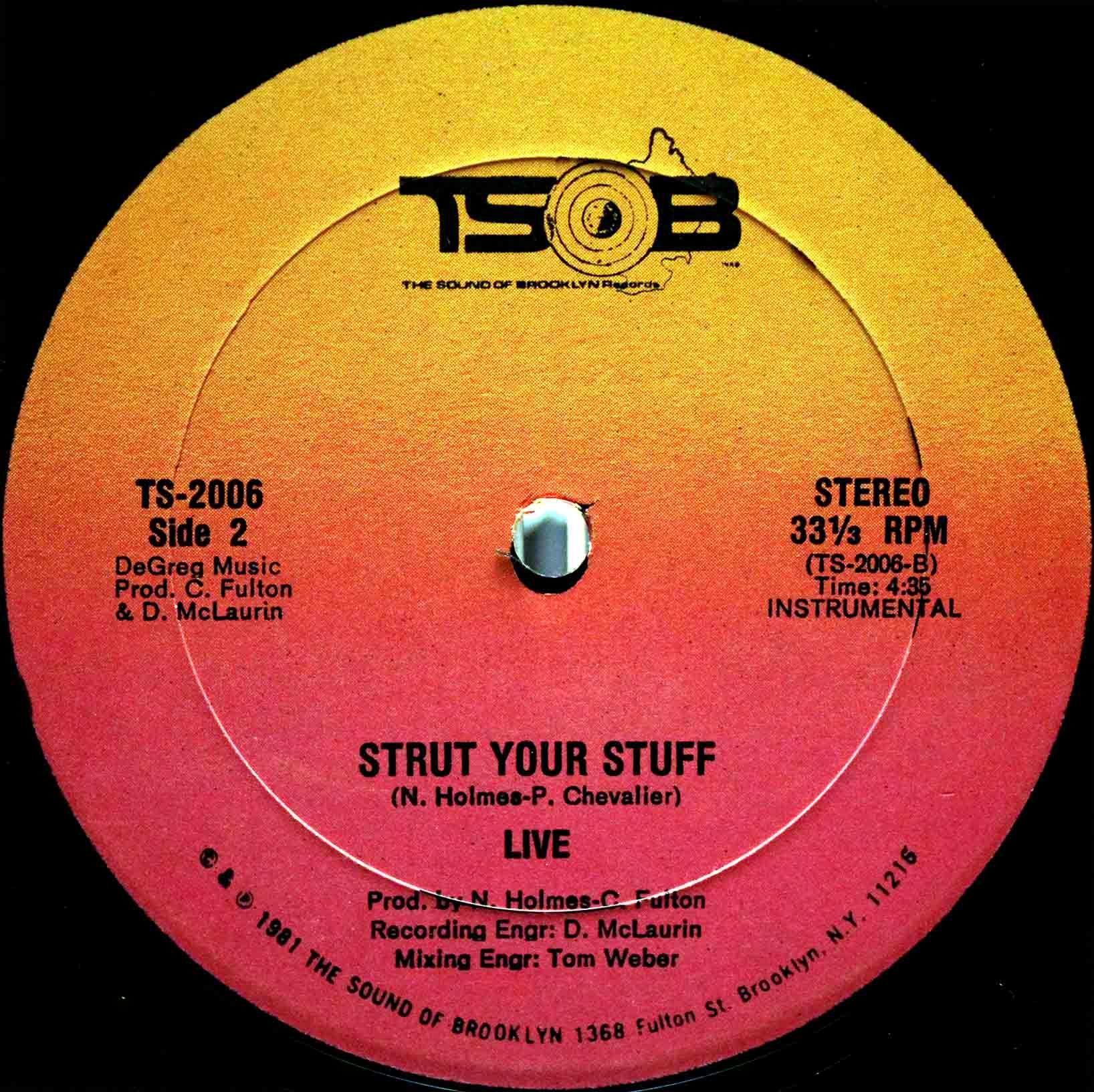 Live – Strut Your Stuff 04