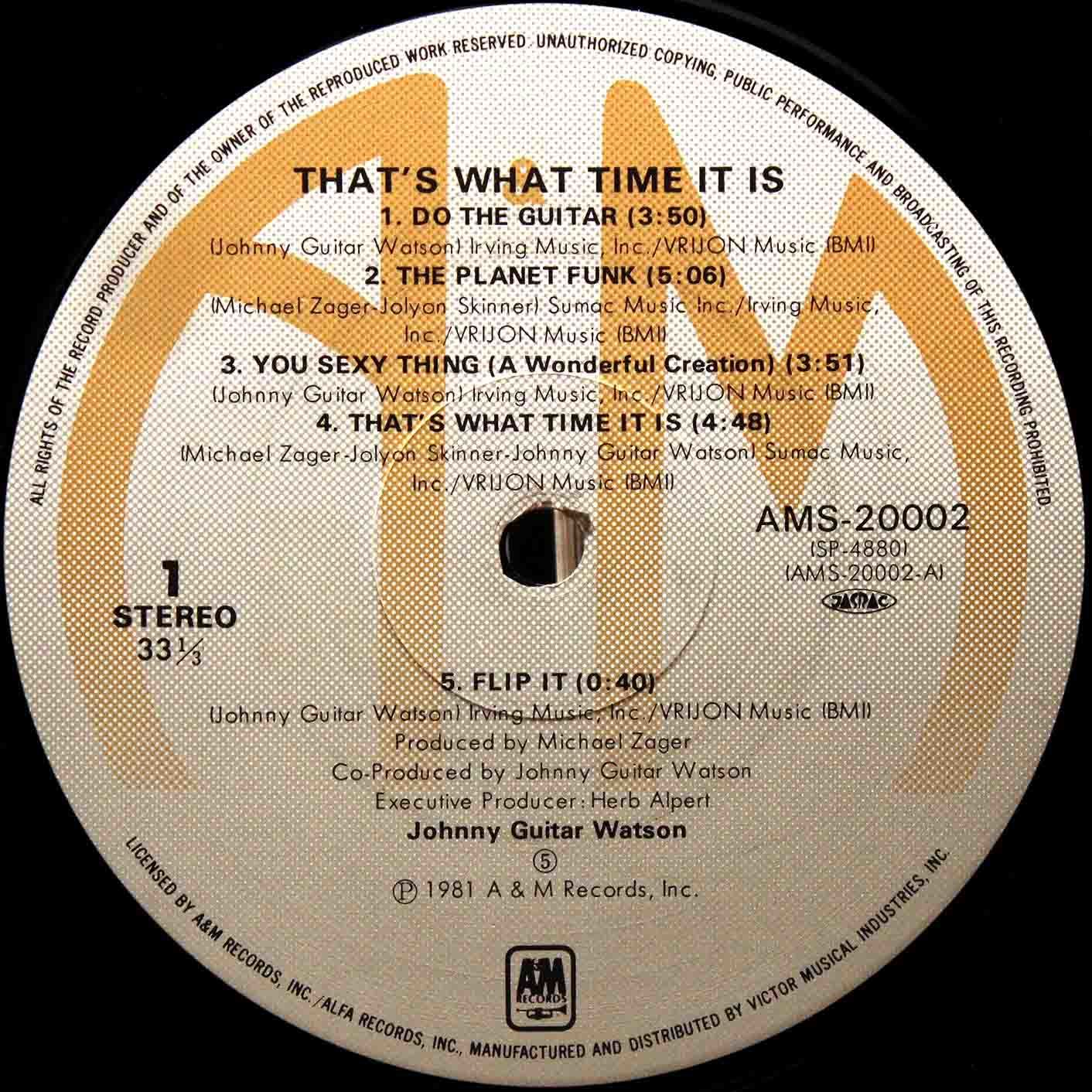 Johnny Guitar Watson  Thats What Time It Is 04