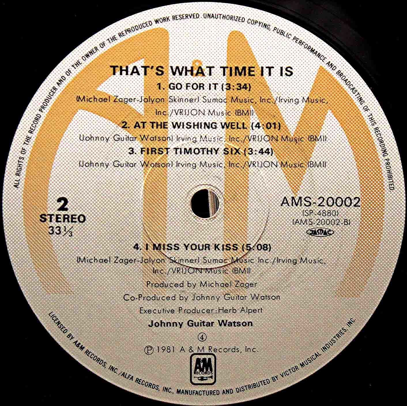 Johnny Guitar Watson  Thats What Time It Is 05